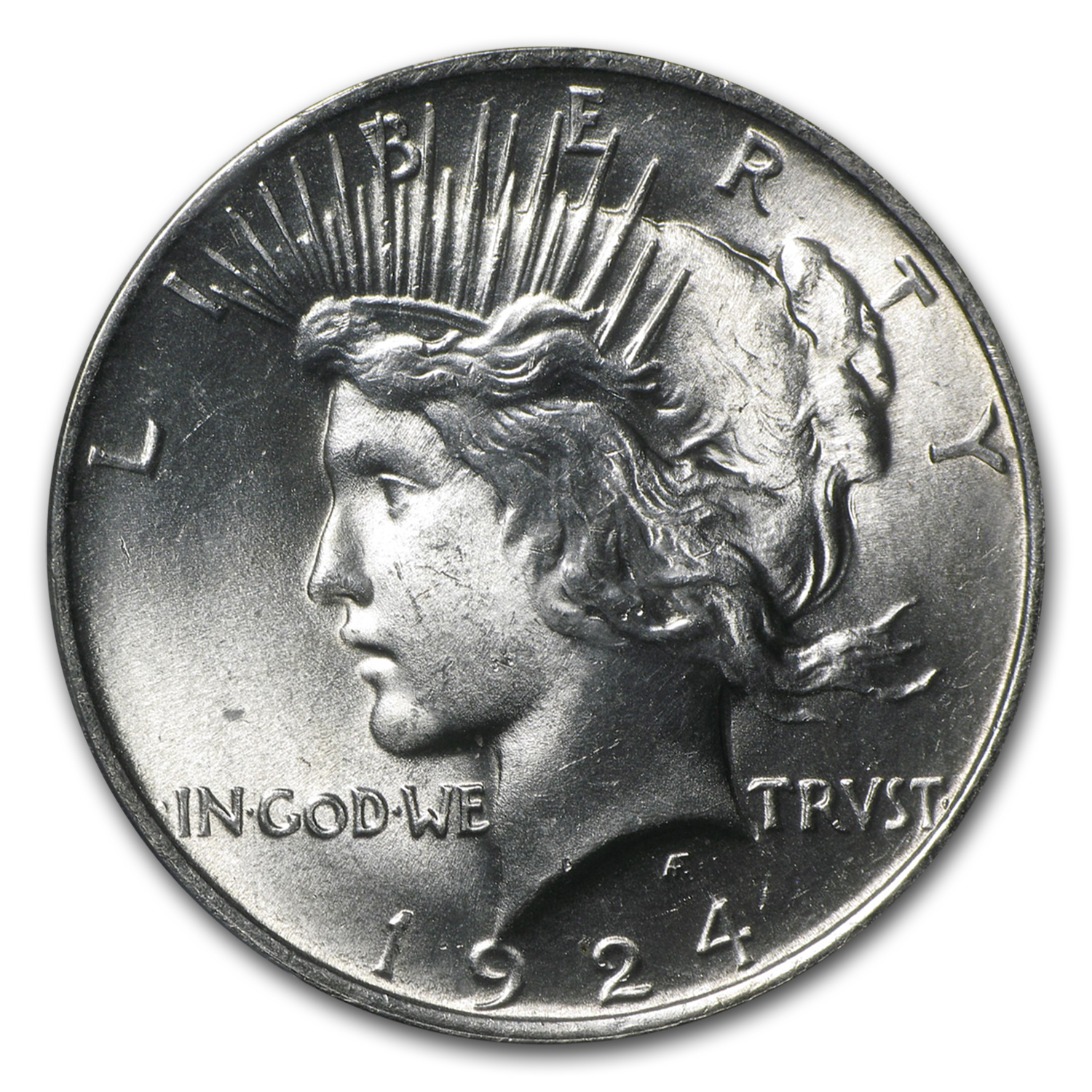 1924 Peace Dollar MS-65 PCGS