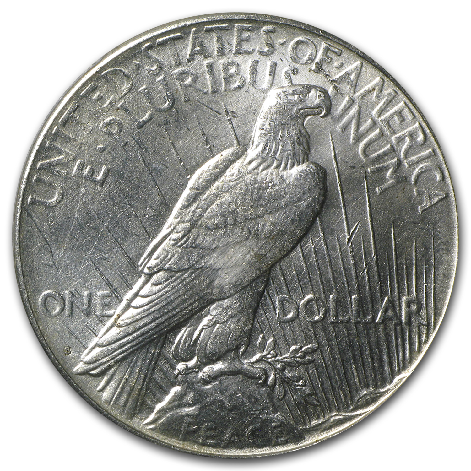 1923-S Peace Dollar MS-62 PCGS