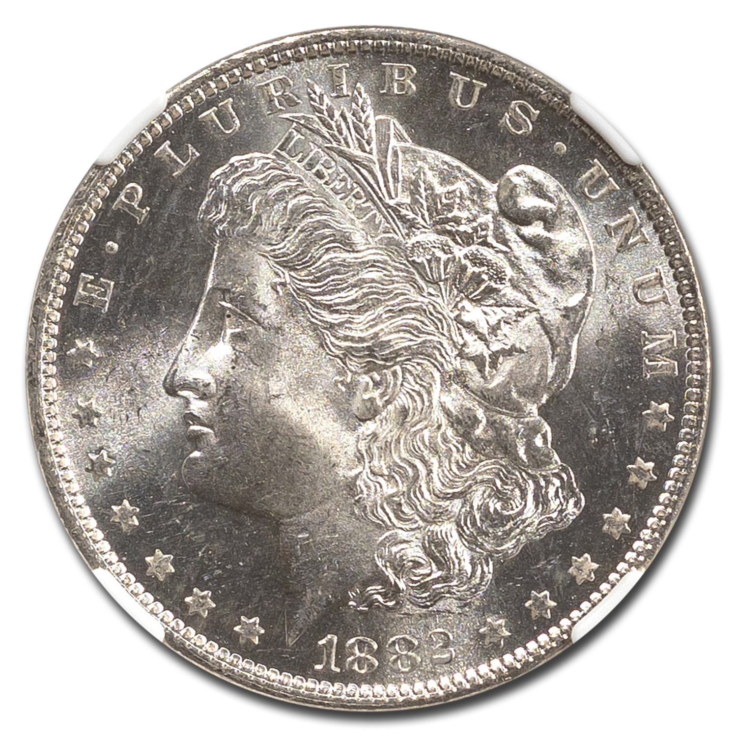 1882-O Morgan Dollar MS-63 NGC