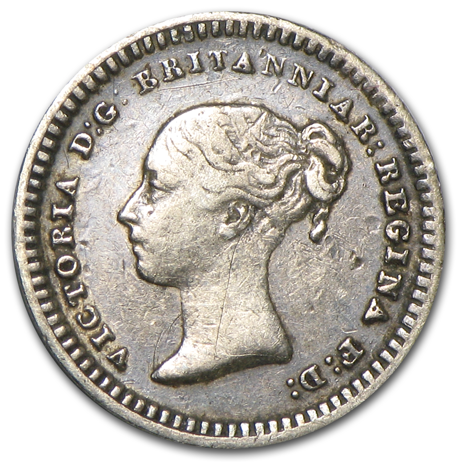 1843 Great Britain 1 1/2 Pence VF