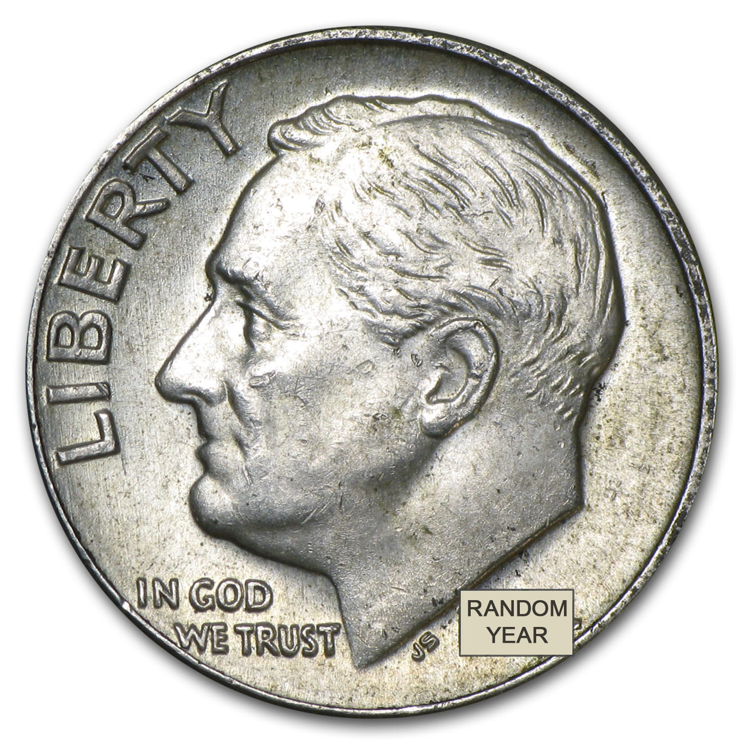 90% Silver Roosevelt Dimes - $100 Face-Value Bag
