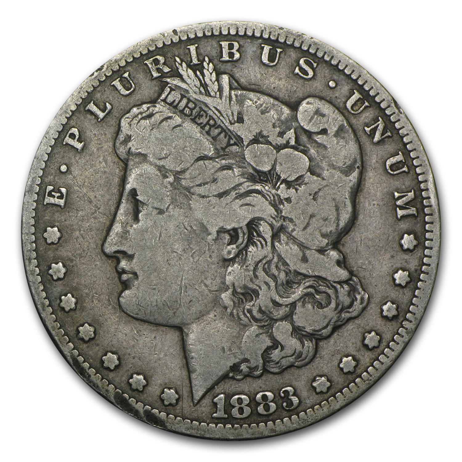 1883-CC Morgan Dollar VG