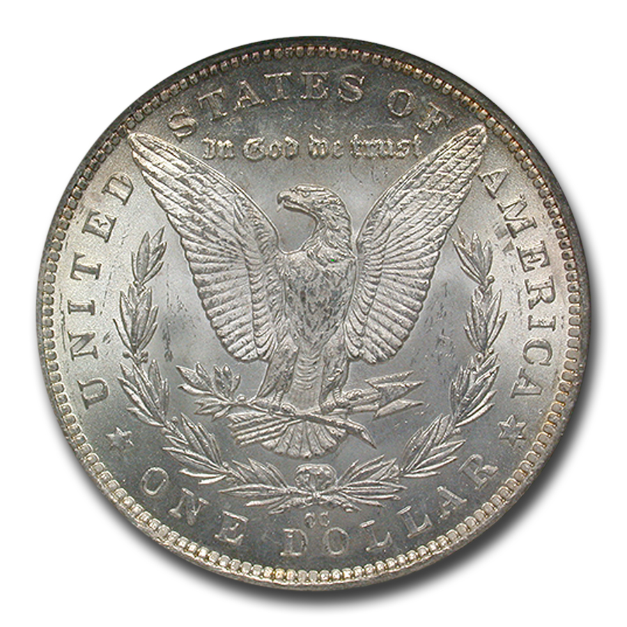 1891-CC Morgan Dollar - MS-63 NGC VAM-3 Spitting Eagle Top-100