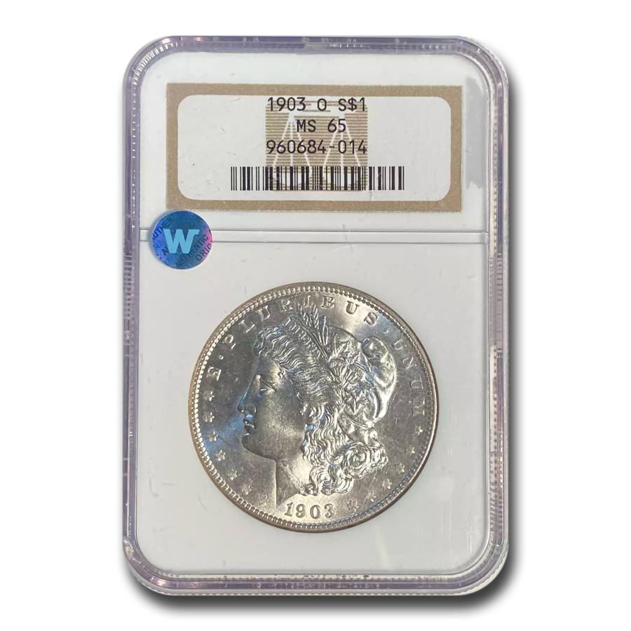 1903-O Morgan Dollar MS-65 NGC
