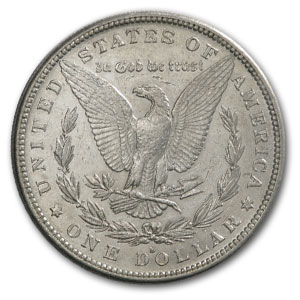 1885-S Morgan Silver Dollar AU