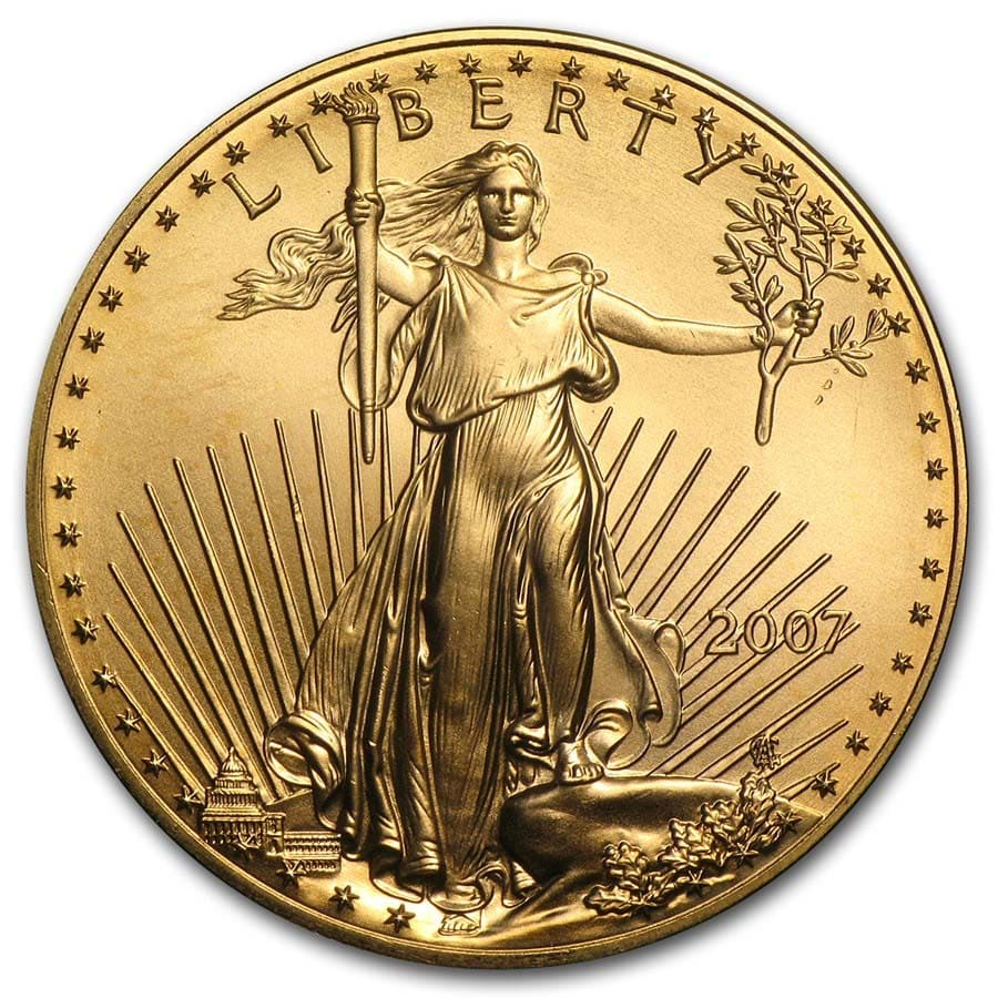 2007 1 oz Gold American Eagle (BU)