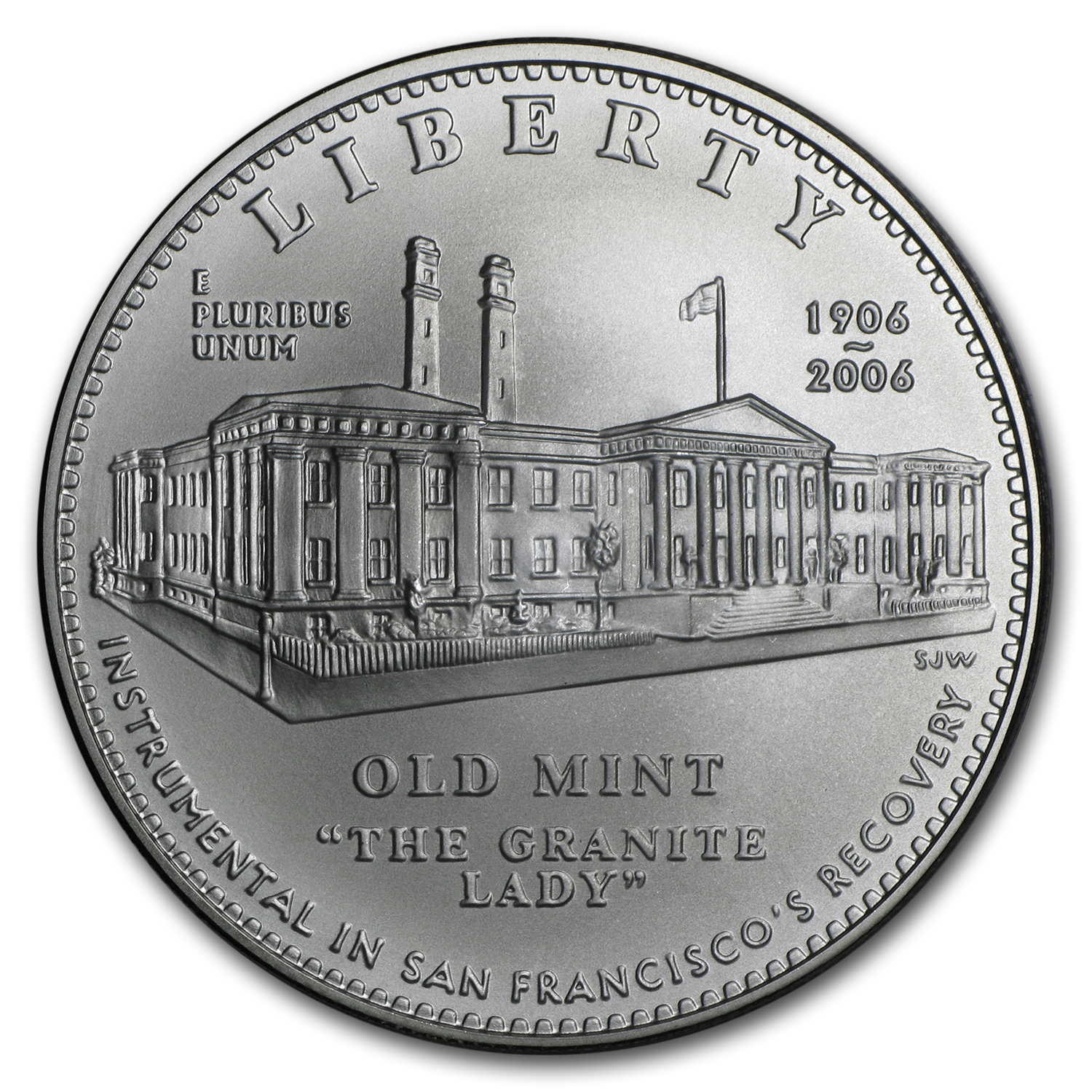 2006-S San Francisco Old Mint $1 Silver Commem BU (w/Box & COA)