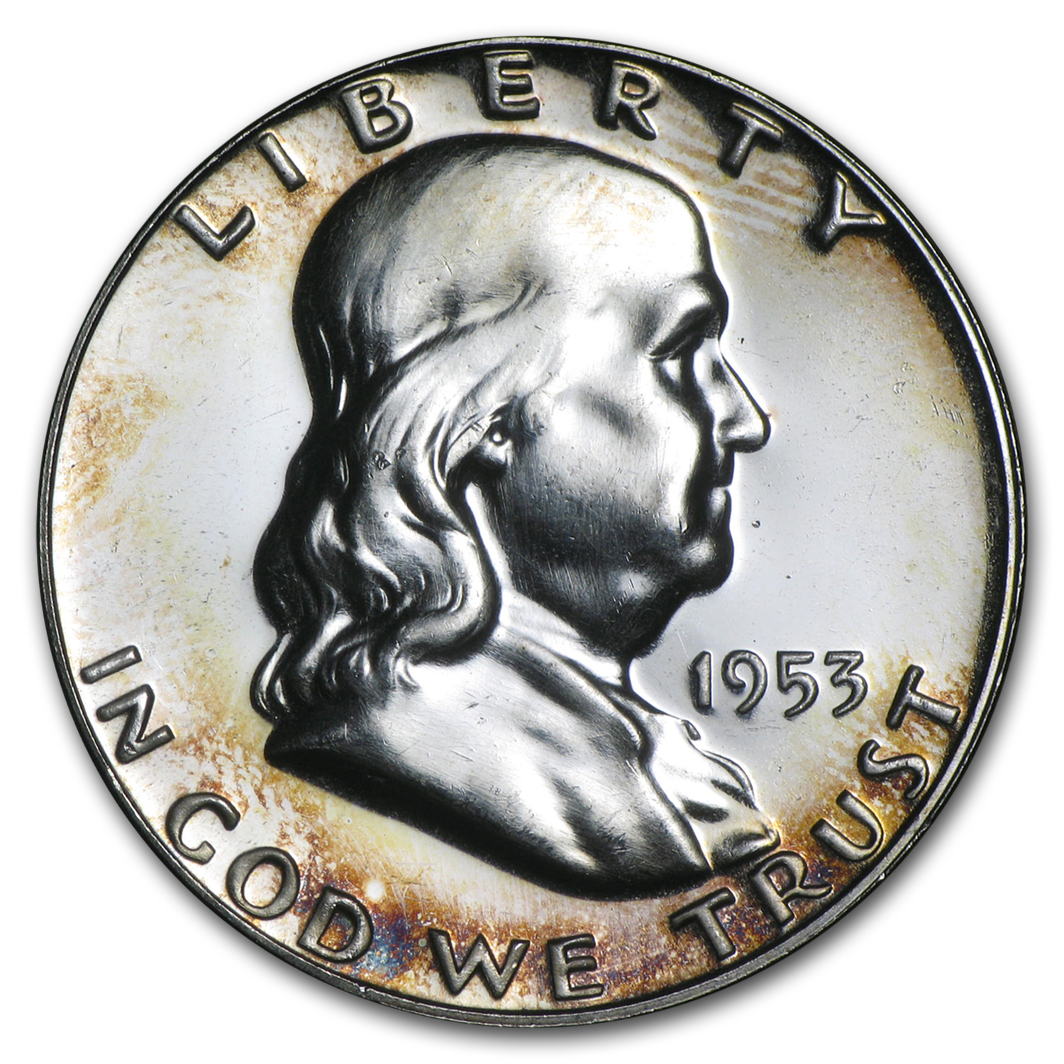 1953 Franklin Half Dollar Proof