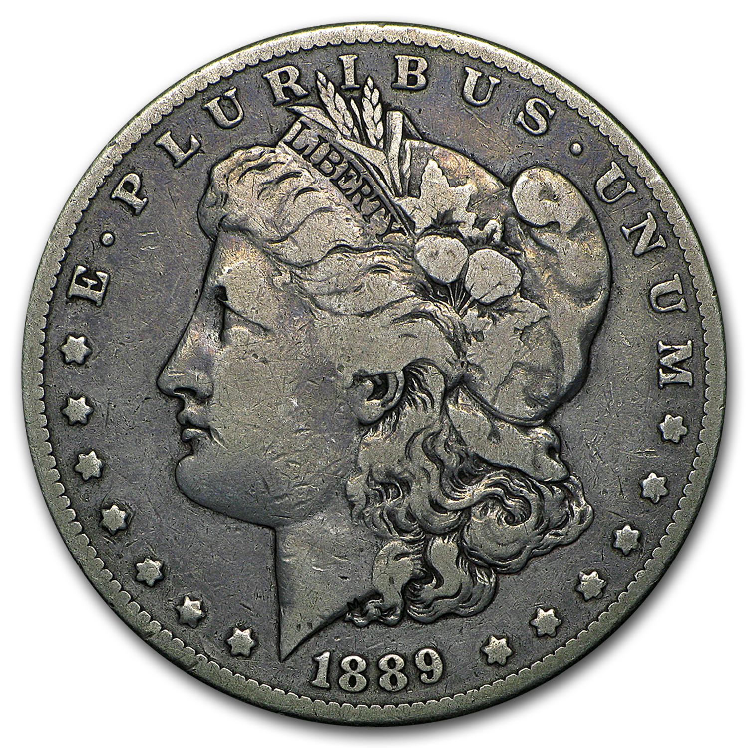 1889-CC Morgan Dollar - Very Good Semi-Key Date