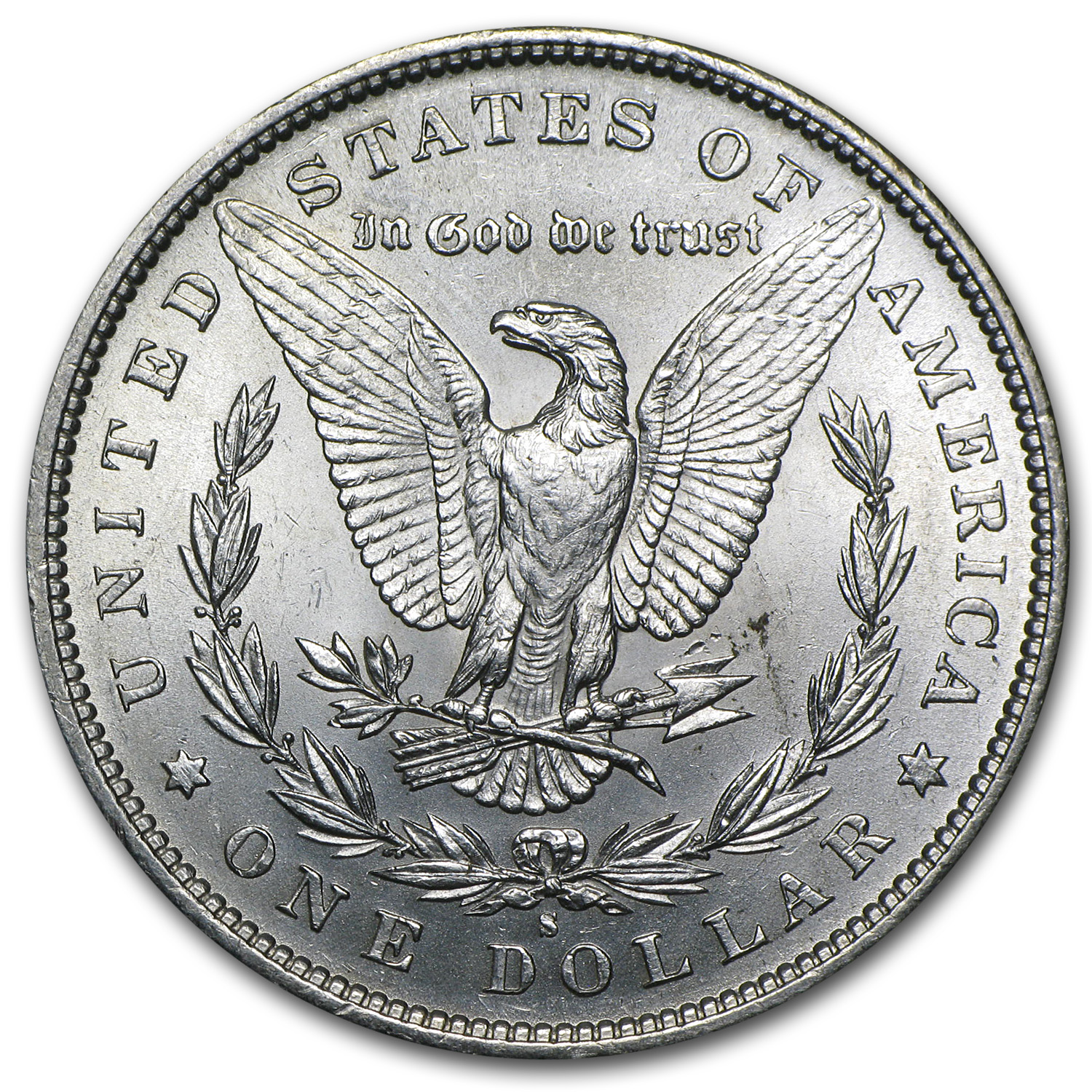 1890-S Morgan Dollar - Brilliant Uncirculated