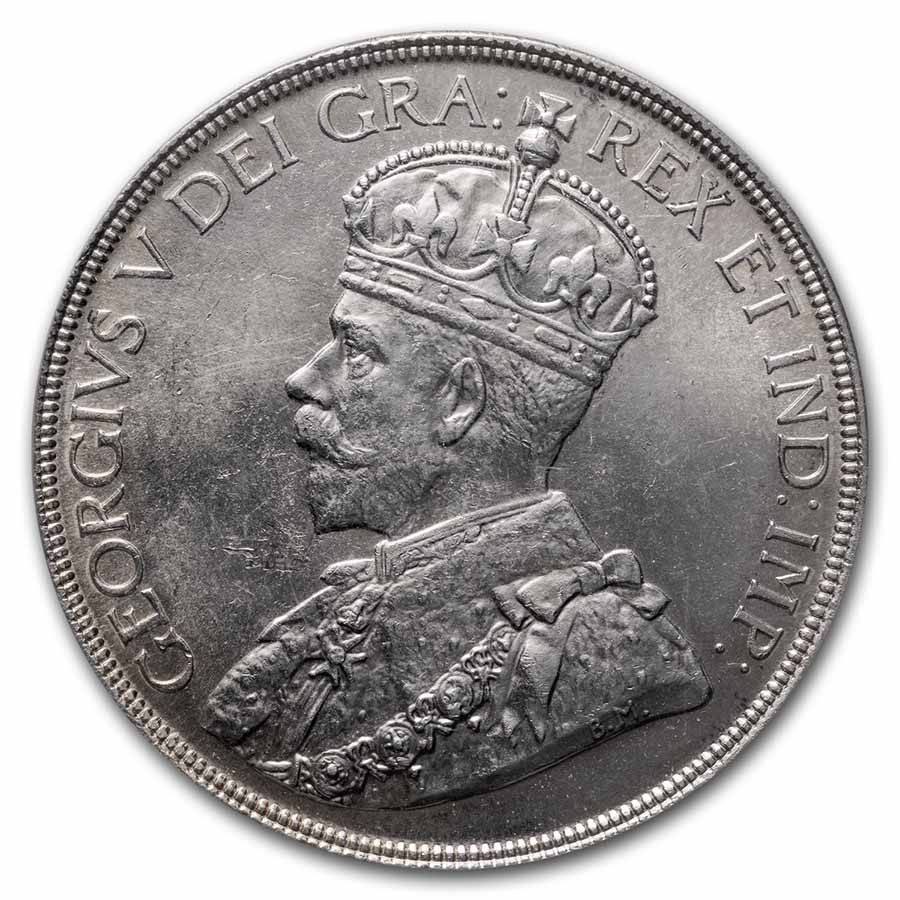 1936 Canada Silver Dollar King George V MS-63 PCGS