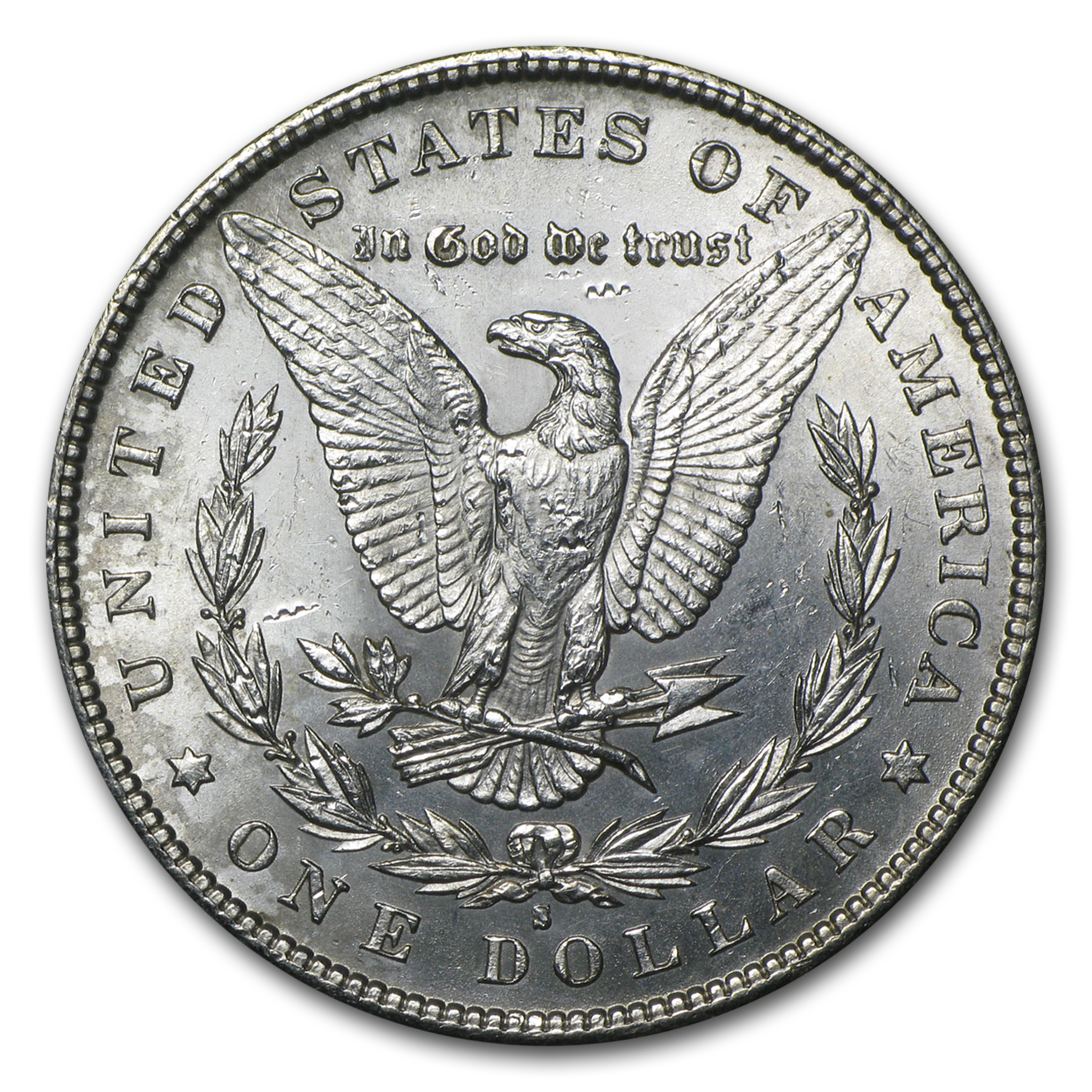 1891-S Morgan Dollar BU