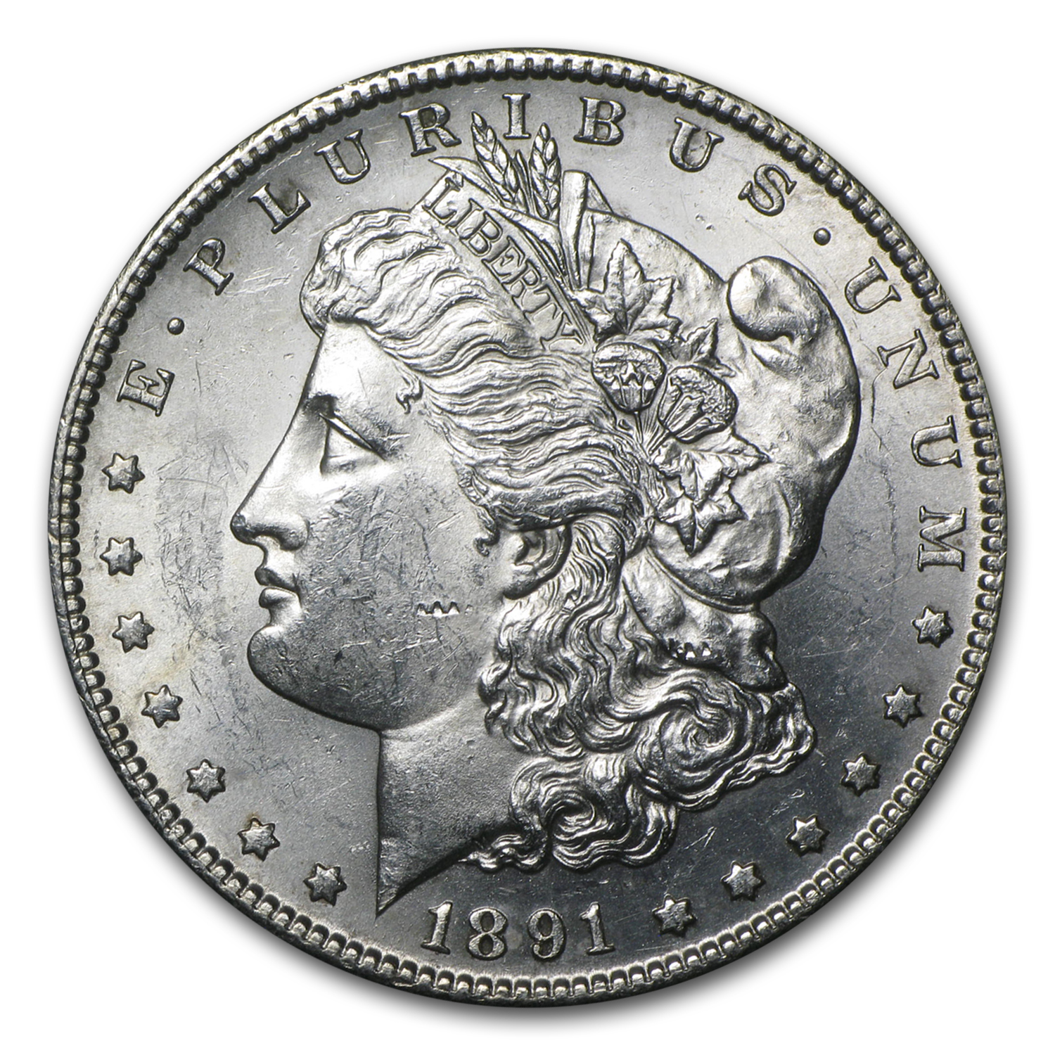 1891-S Morgan Dollar - Brilliant Uncirculated