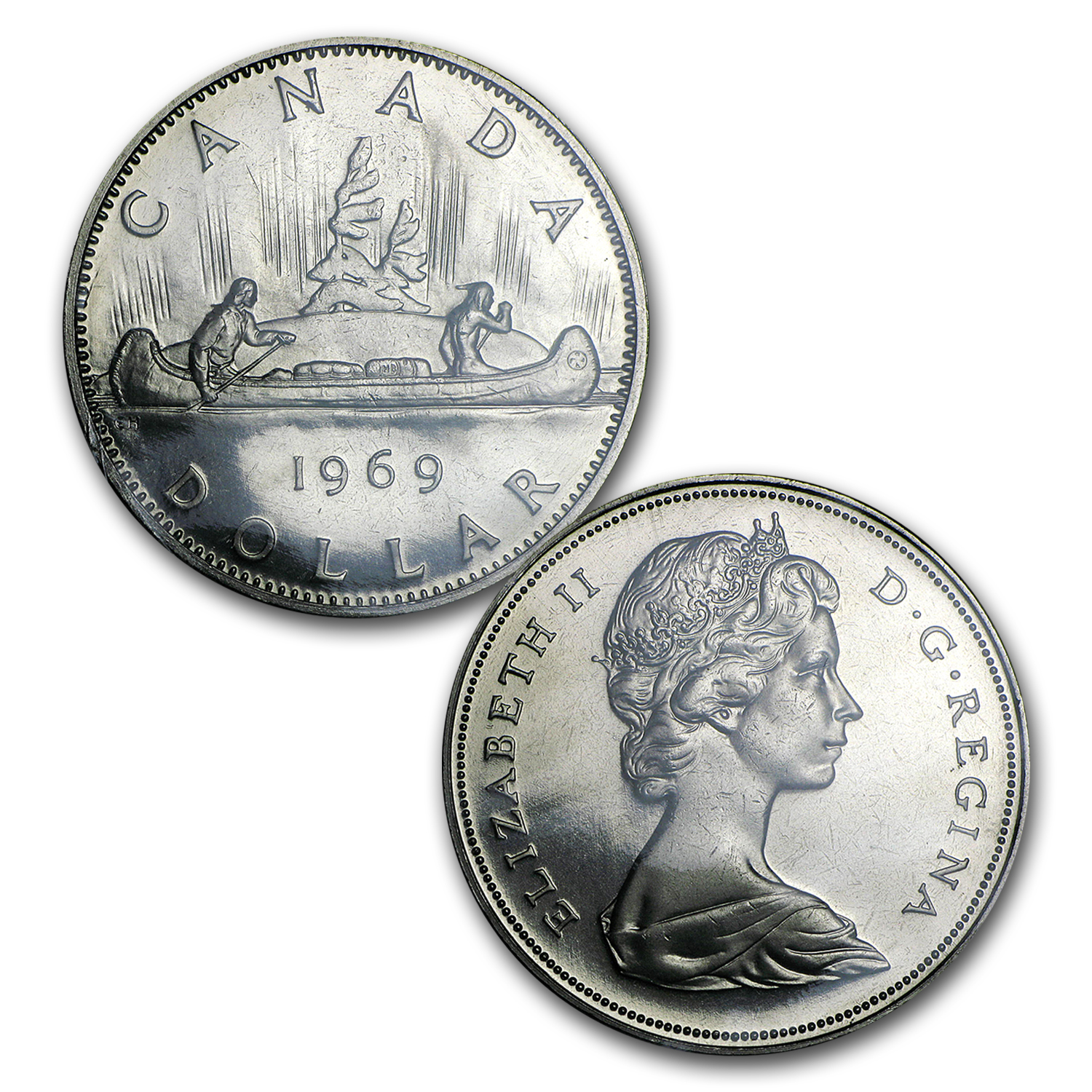 1969 Canada 6-Coin Proof Like Set