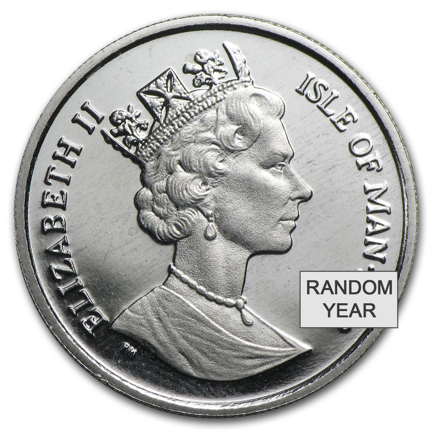 Isle of Man 1/5 oz Platinum Cat (Random Year)