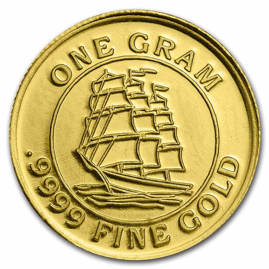 1 gram Gold Rounds - Secondary Market