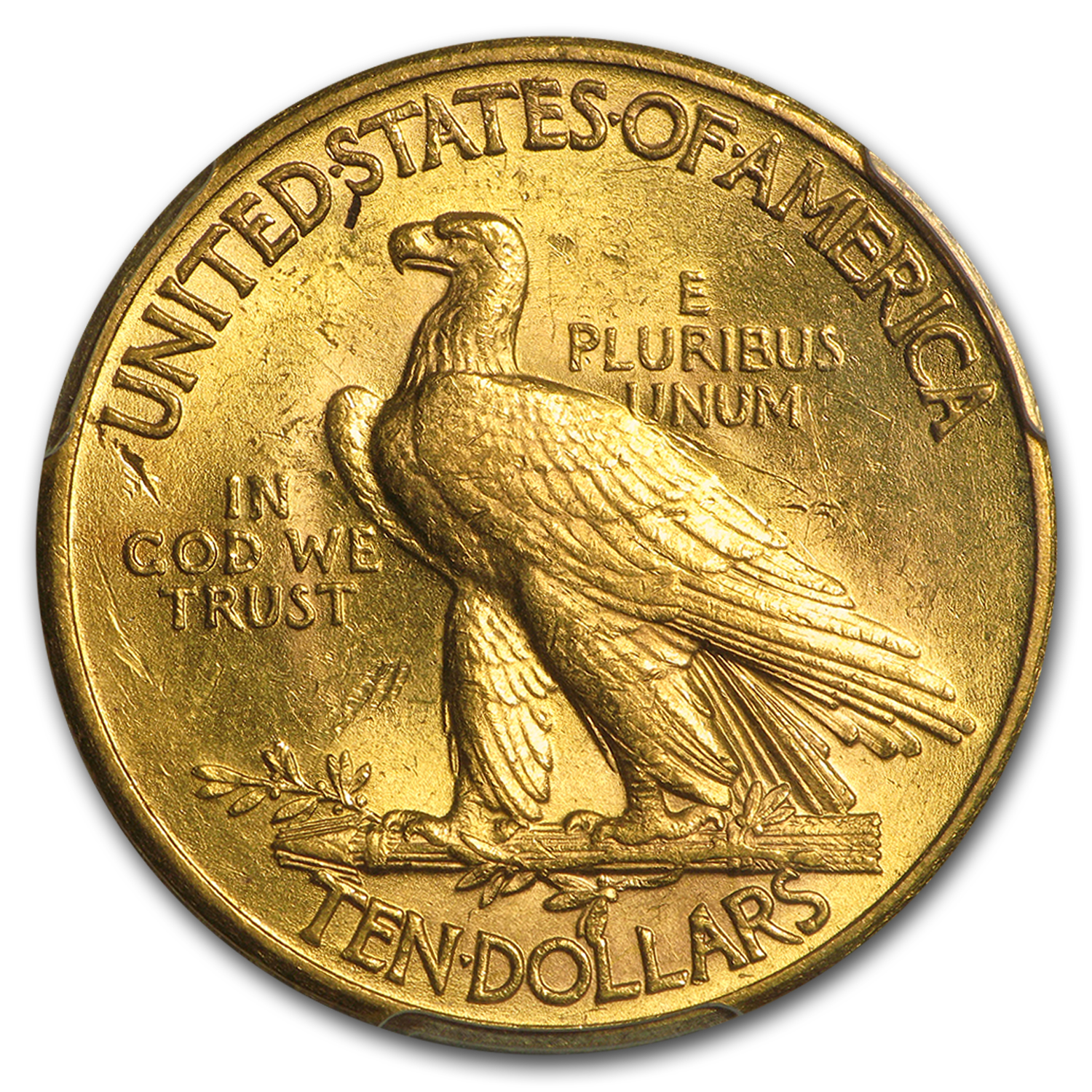 $10 Indian Gold Eagle MS-61 PCGS (Random)