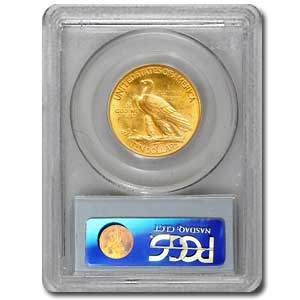 $10 Indian Gold Eagle - MS-61 PCGS