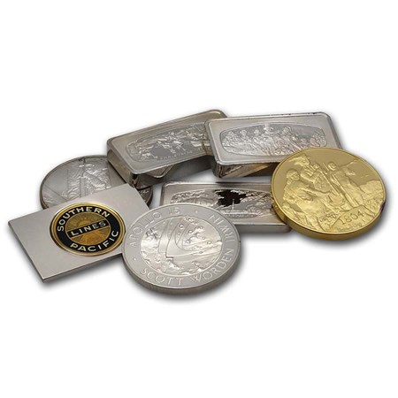 925 Sterling Silver Private Mints Bars And Or Rounds