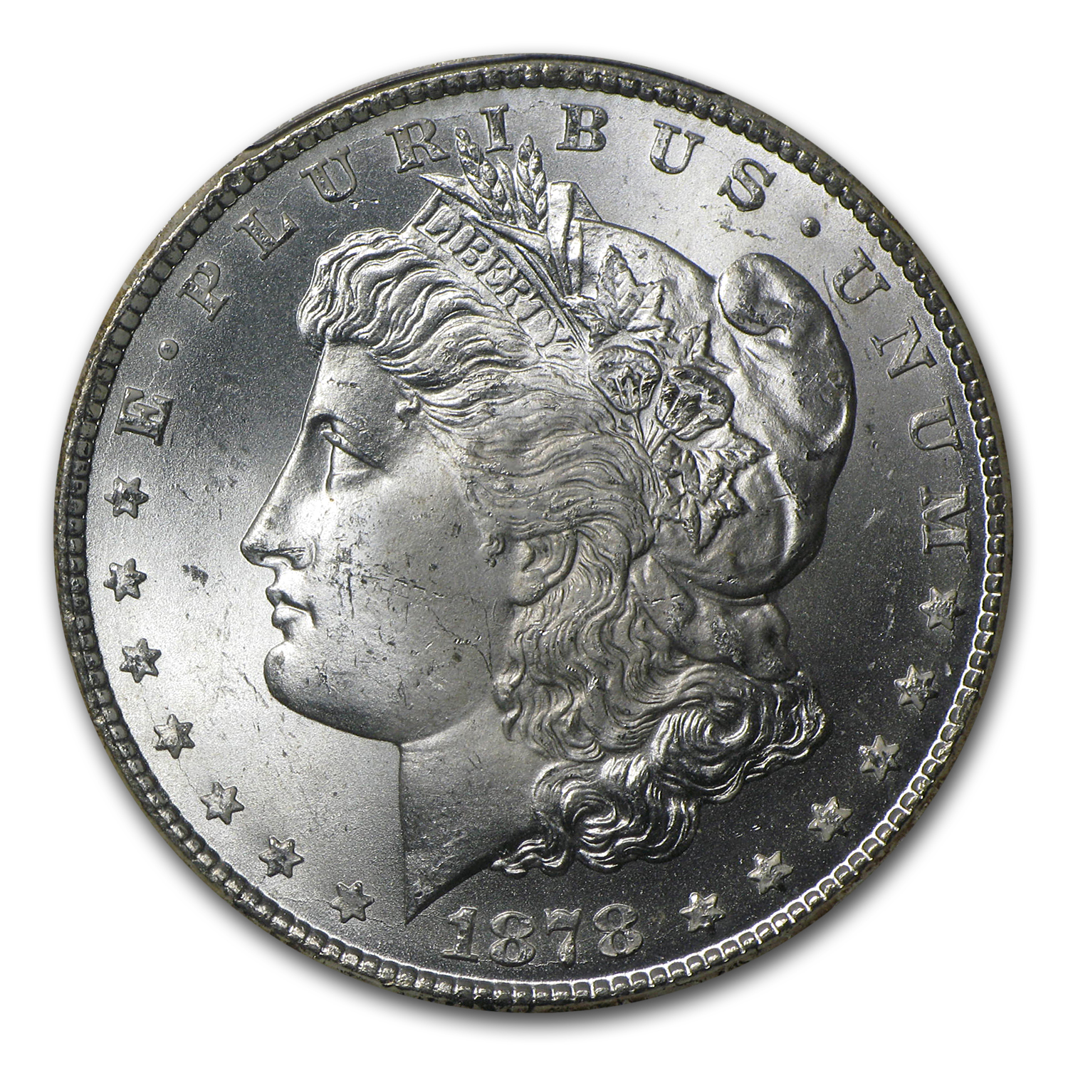 1878-CC Morgan Dollar MS-65 PCGS (CAC)
