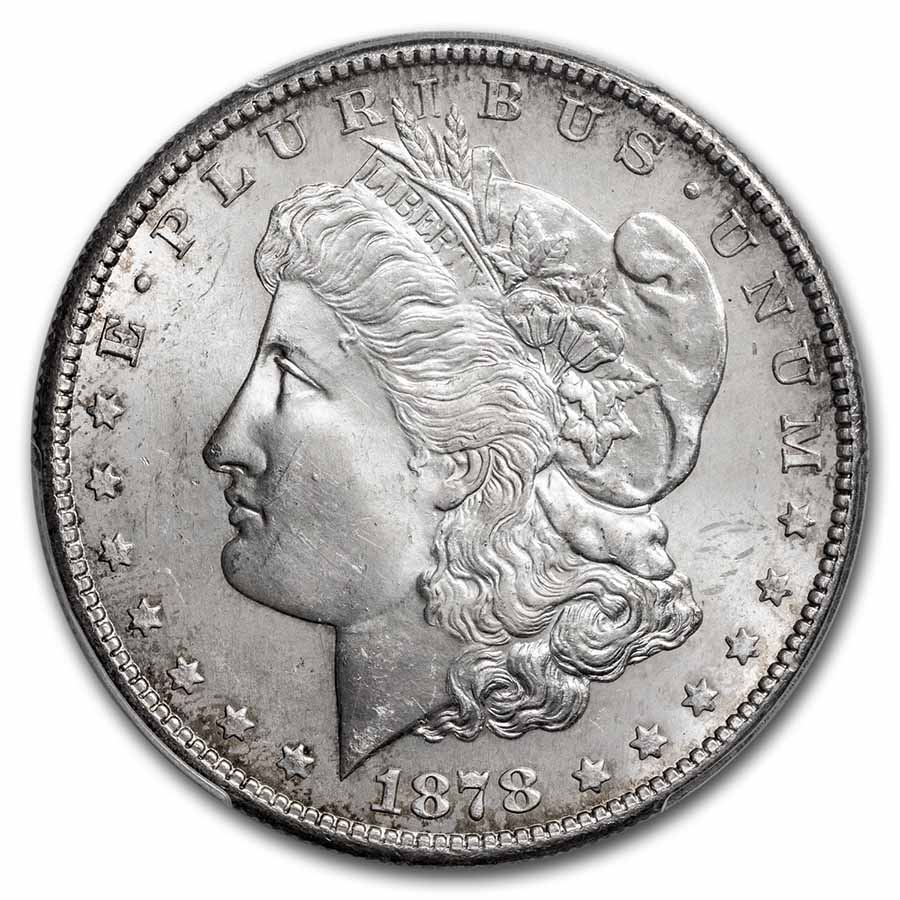 1878-S Morgan Dollar MS-65 PCGS