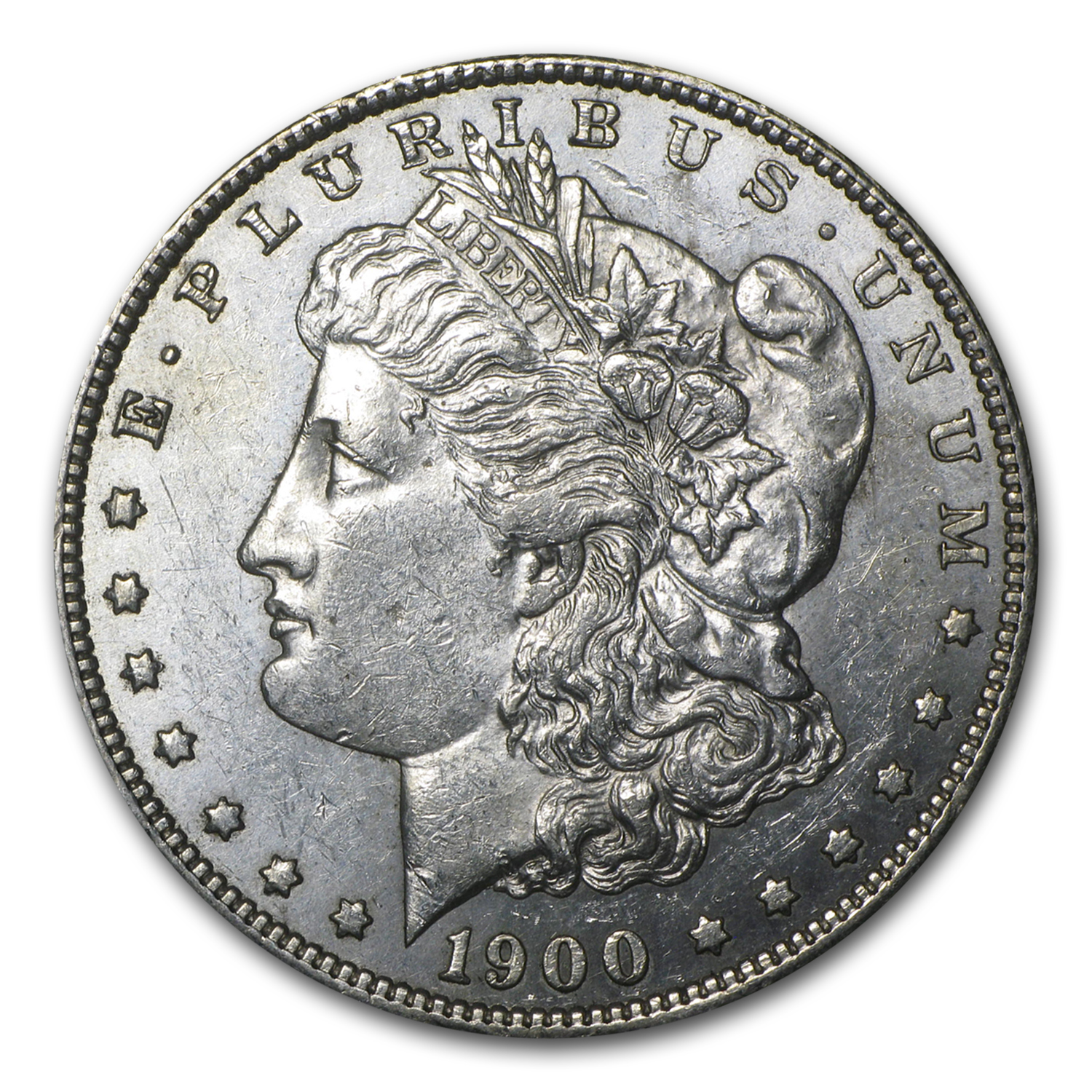 1900-S Morgan Dollar - Almost Uncirculated