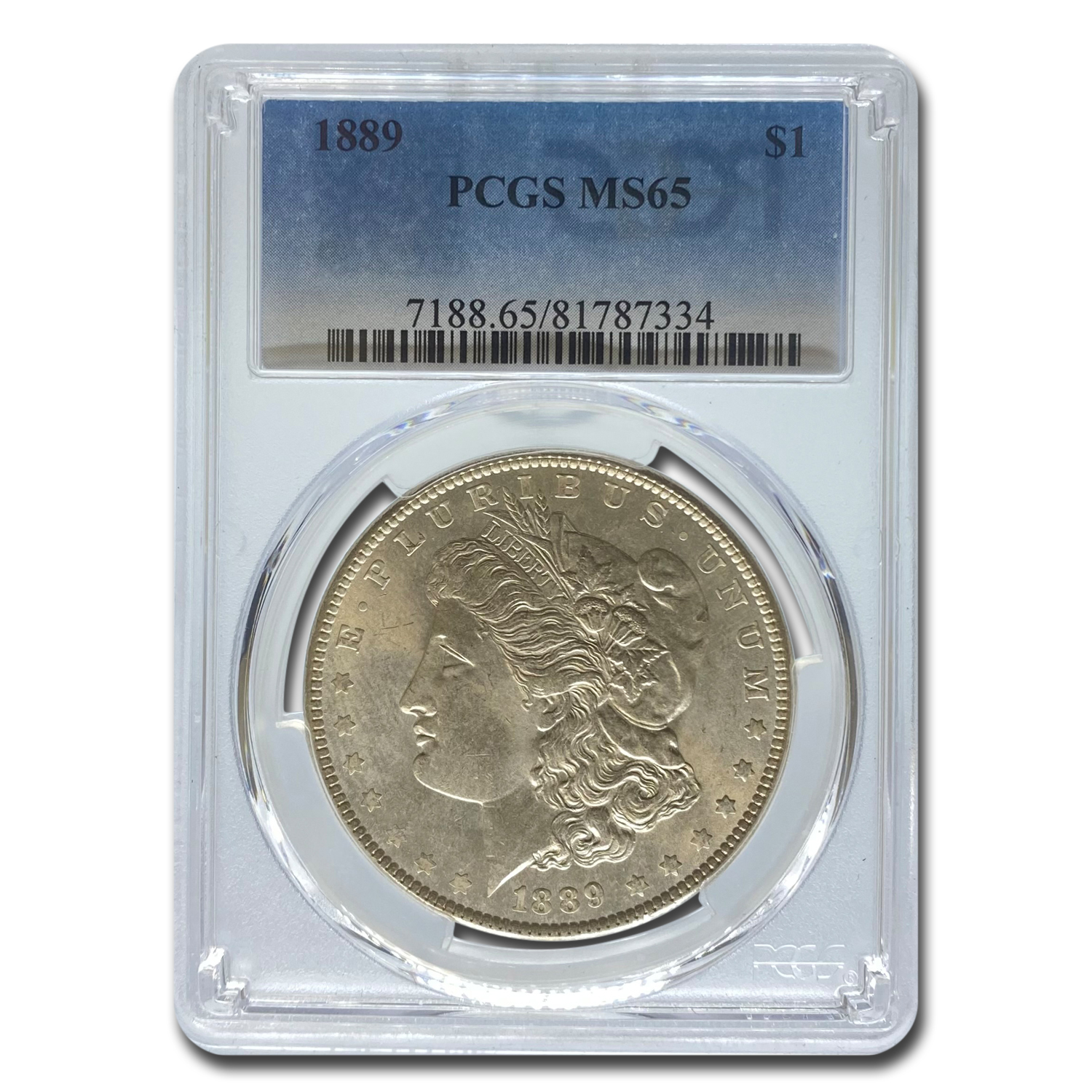1889 Morgan Dollar MS-65 PCGS
