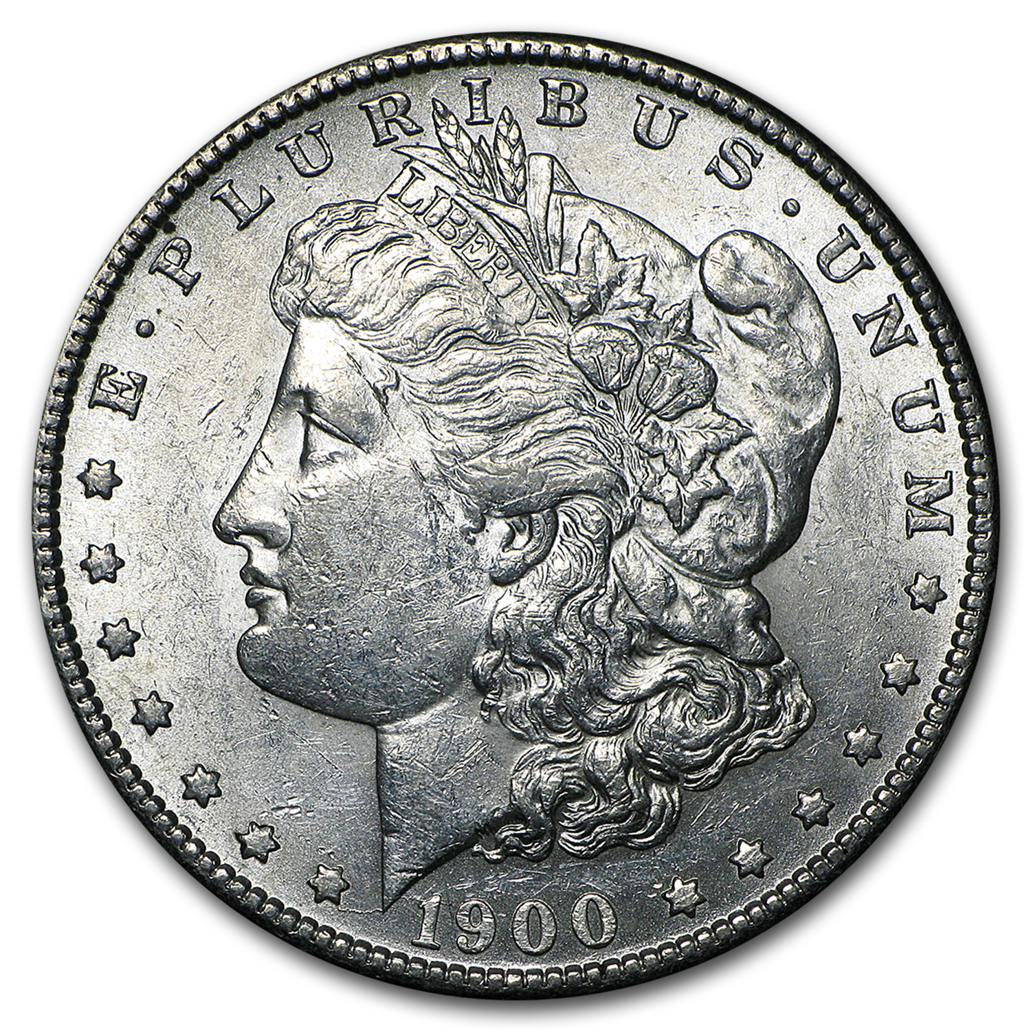 1900-S Morgan Dollar AU-55