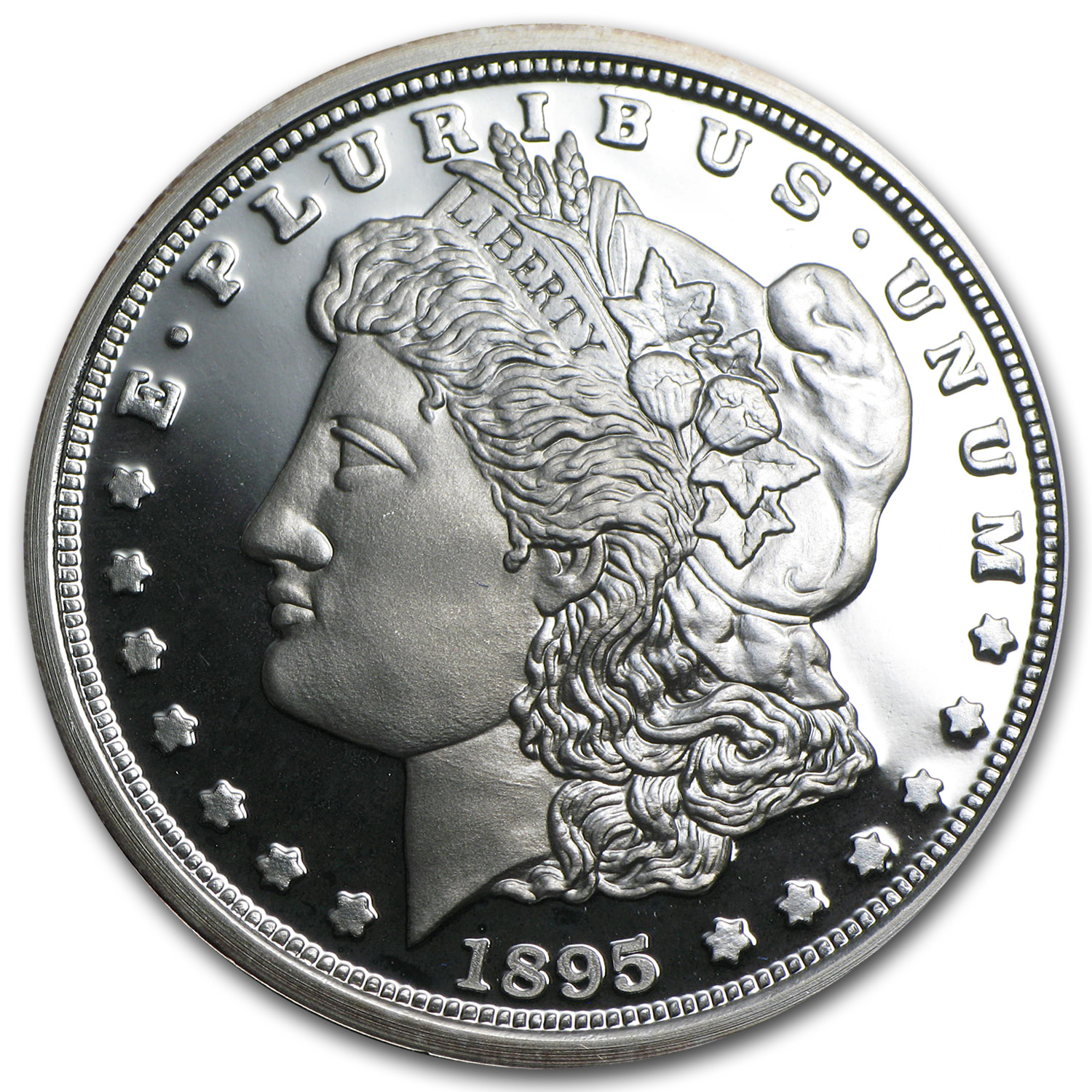 1 oz Silver Rounds - 1895 Morgan Dollar Replica (Proof)