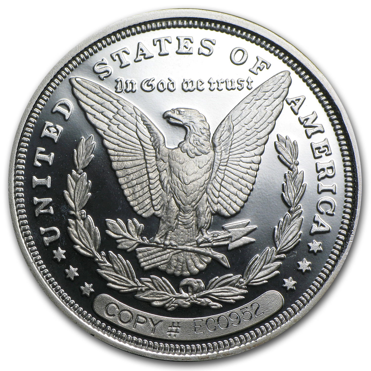 1 oz Silver Round - 1895 Morgan Dollar Proof (Replica)