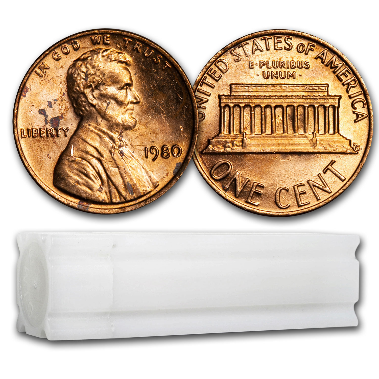 2000 Lincoln Cent 50-Coin Roll BU