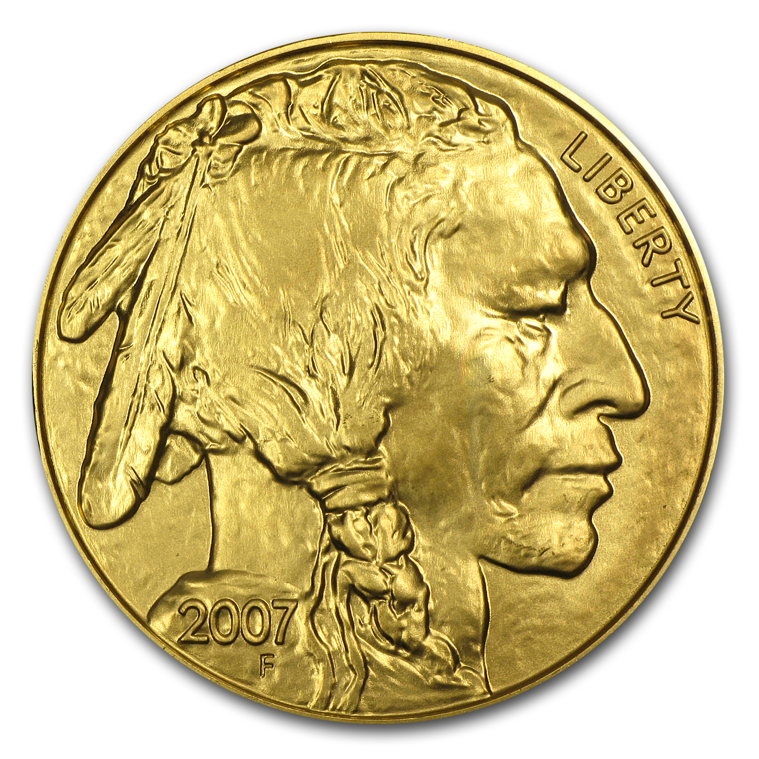 2007 1 oz Gold Buffalo BU