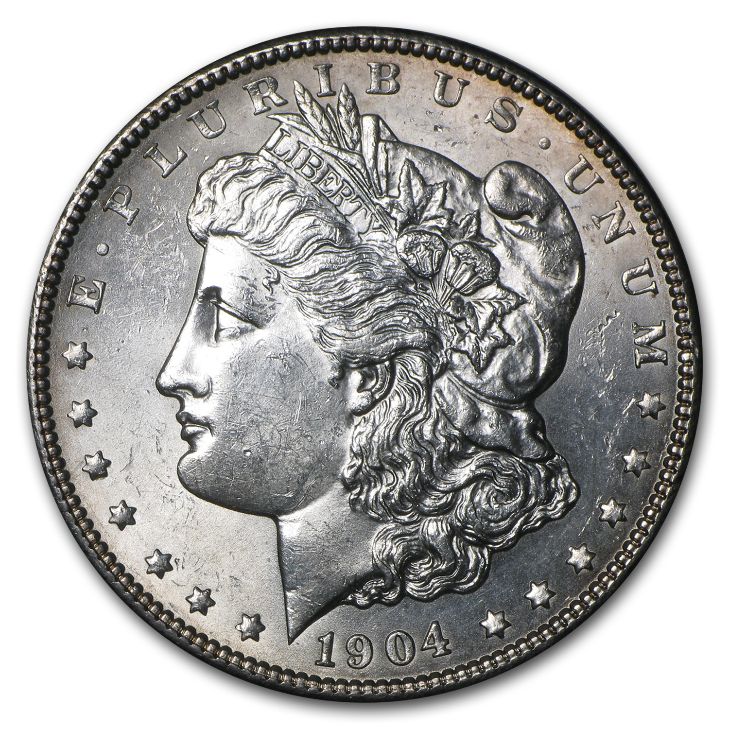 1904 Morgan Dollar BU