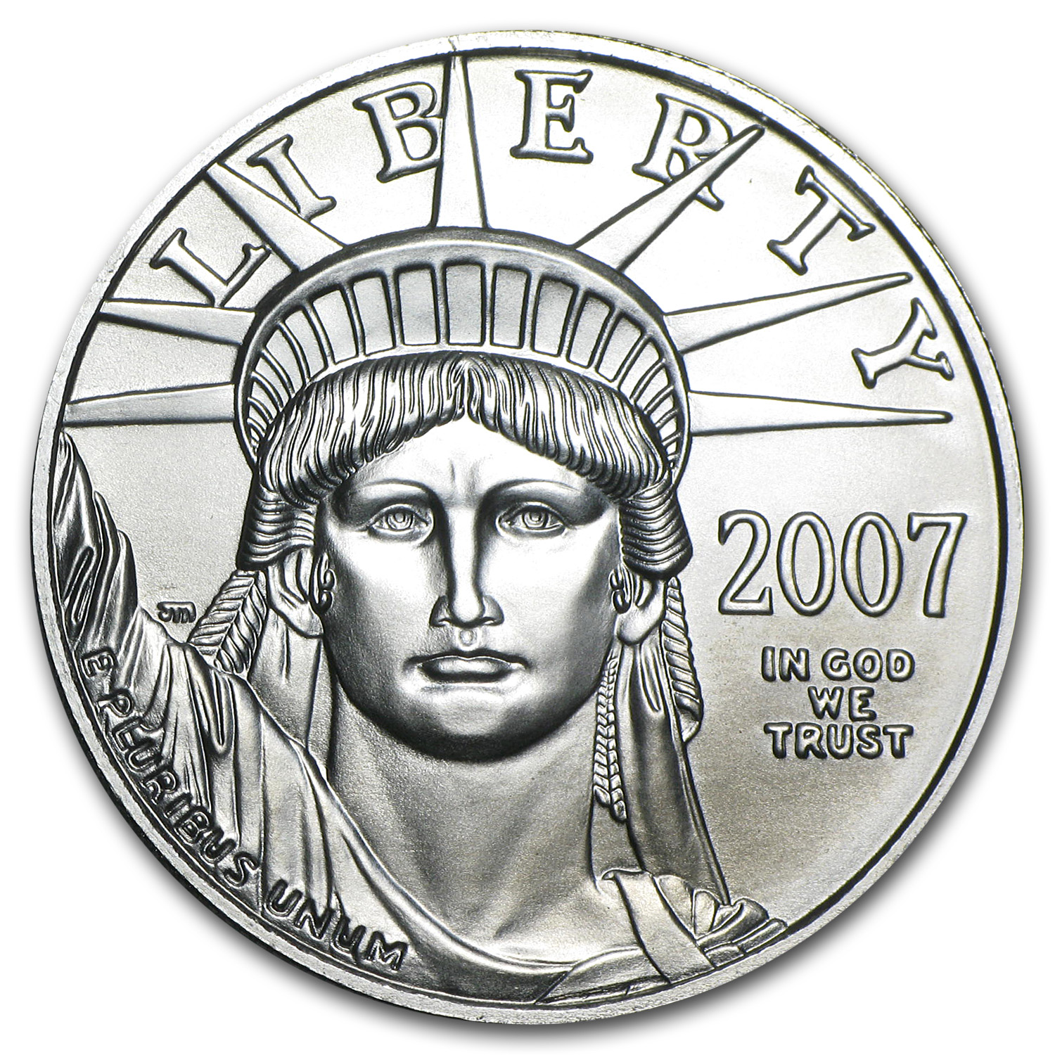2007 1 oz Platinum American Eagle BU