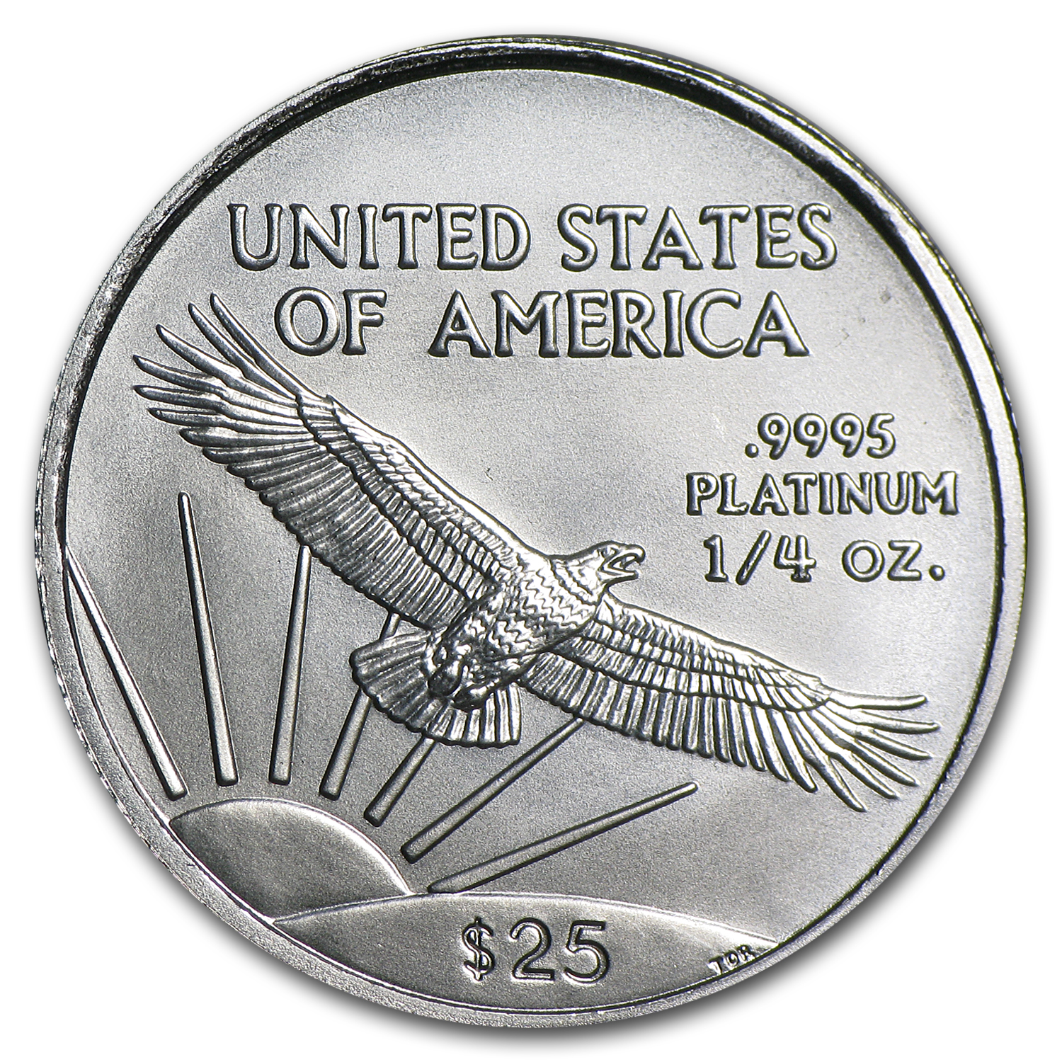 2007 1/4 oz Platinum American Eagle BU