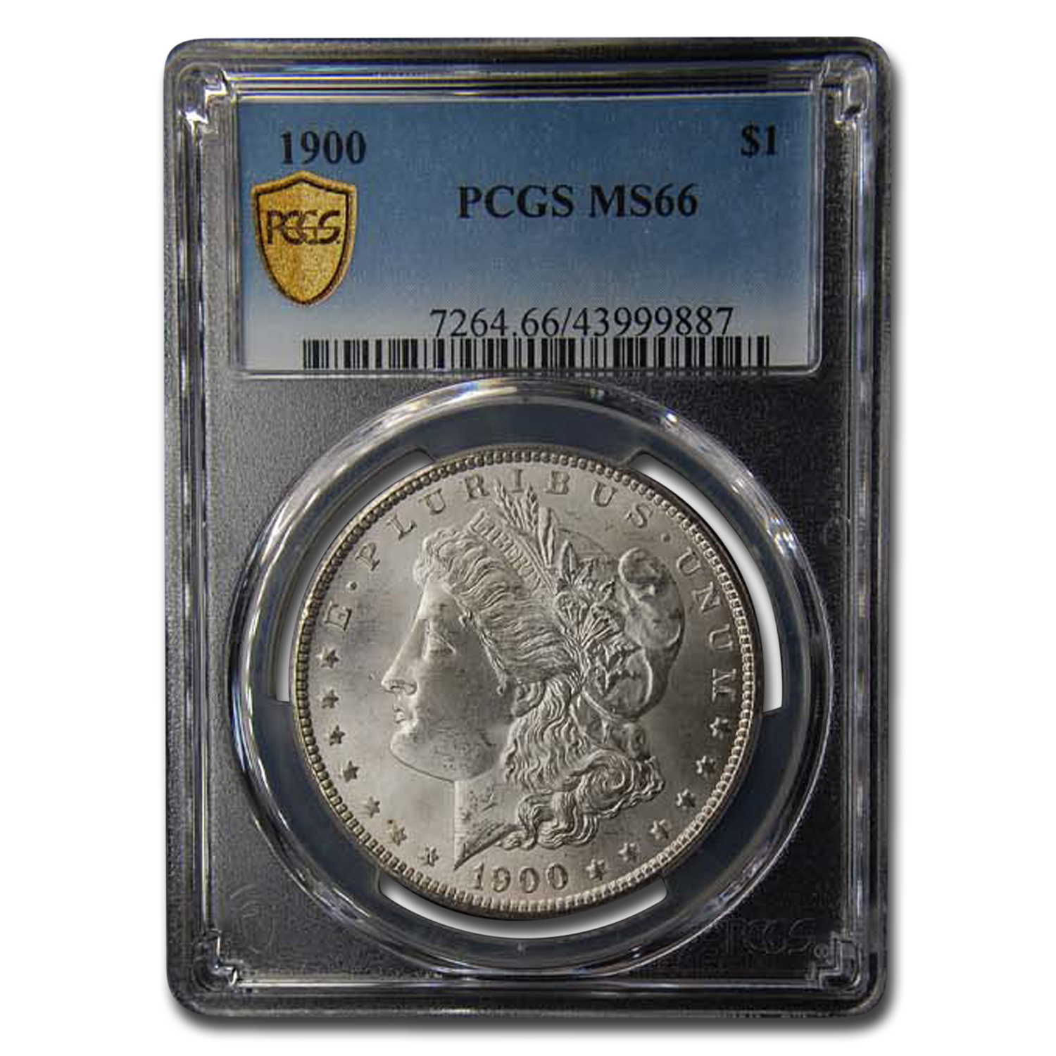 1900 Morgan Dollar MS-66 PCGS