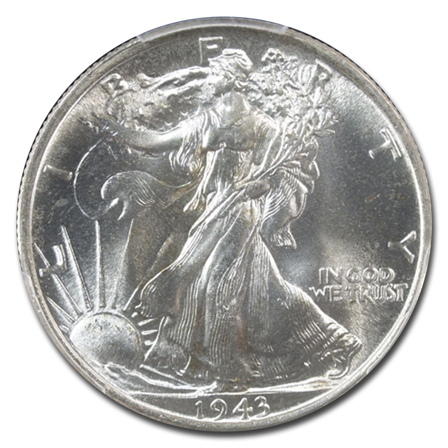 1943 Walking Liberty Half Dollar MS-66 PCGS