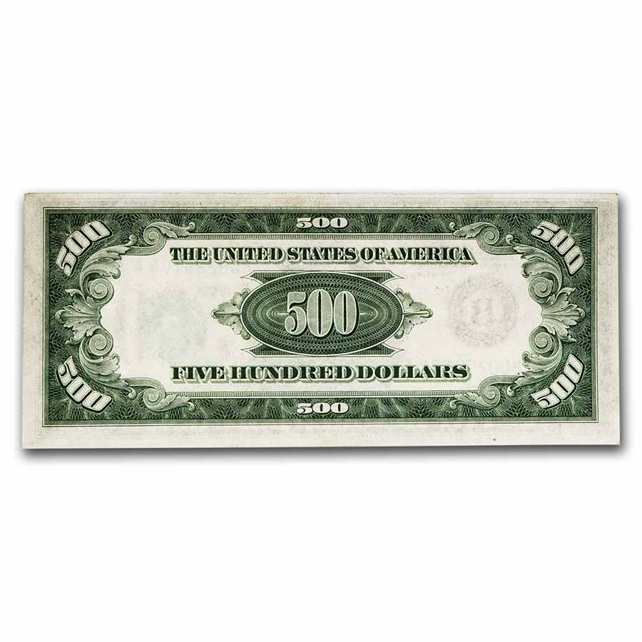 1934-A (B-New York) $500 FRN (Almost Uncirculated)