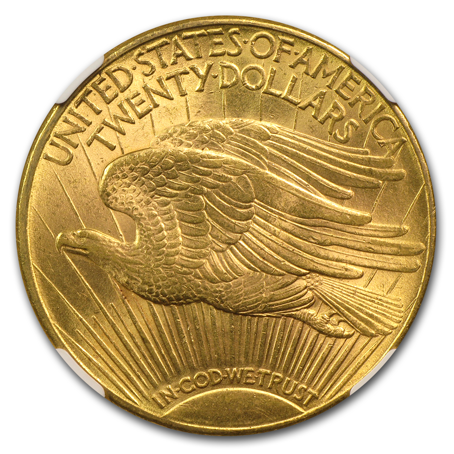 1916-S $20 St. Gaudens Gold Double Eagle - MS-63 NGC