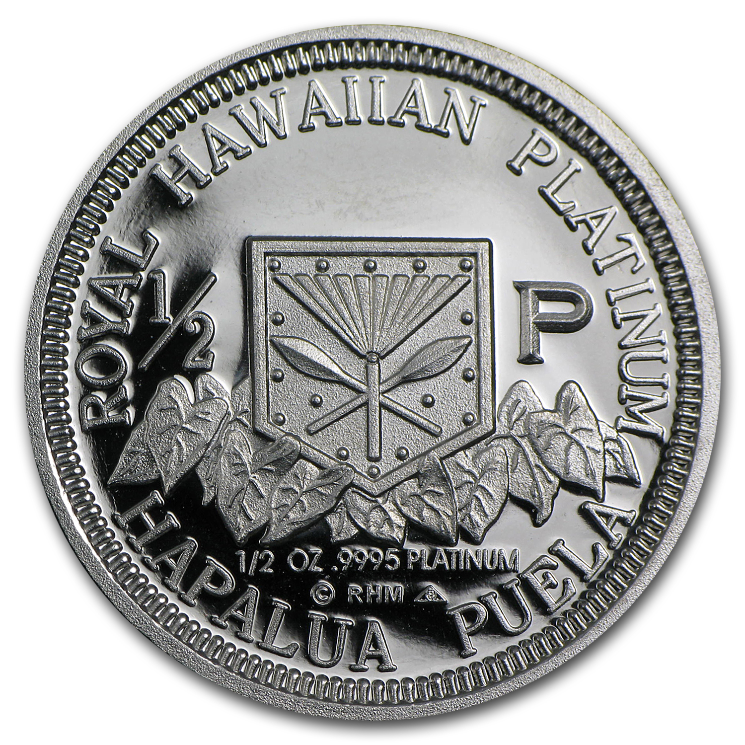 1997 1/2 oz Hawaiian Platinum King (Proof)