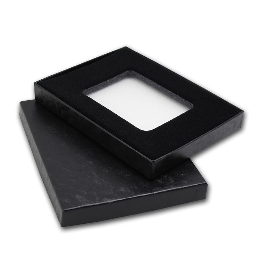 Black Gift Box For NGC or PCGS Slabs