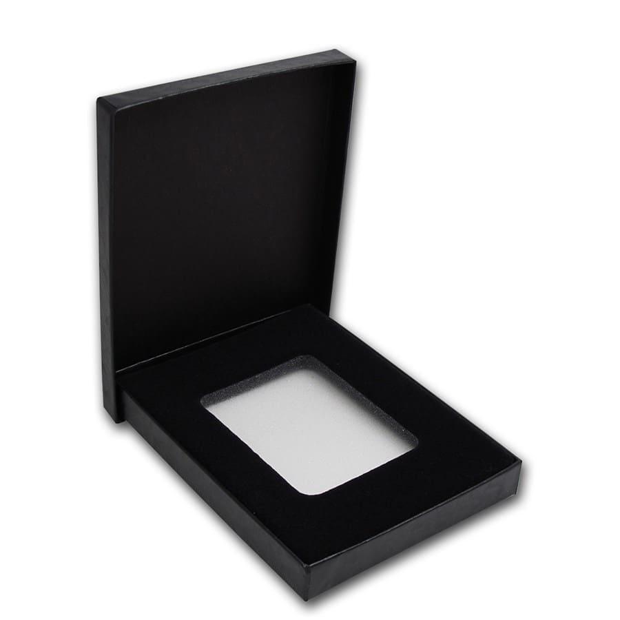 Black Gift Box For Ngc Or Pcgs Slabs Presentation Amp Gift