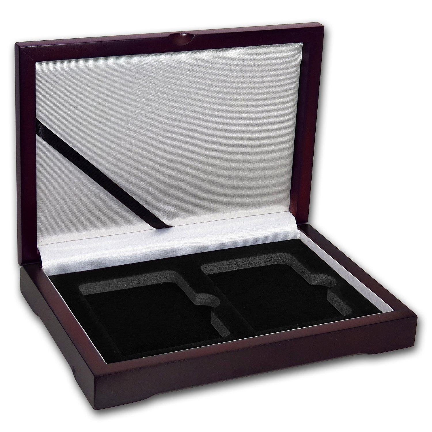 Wooden Slab Gift Box - Two Slab