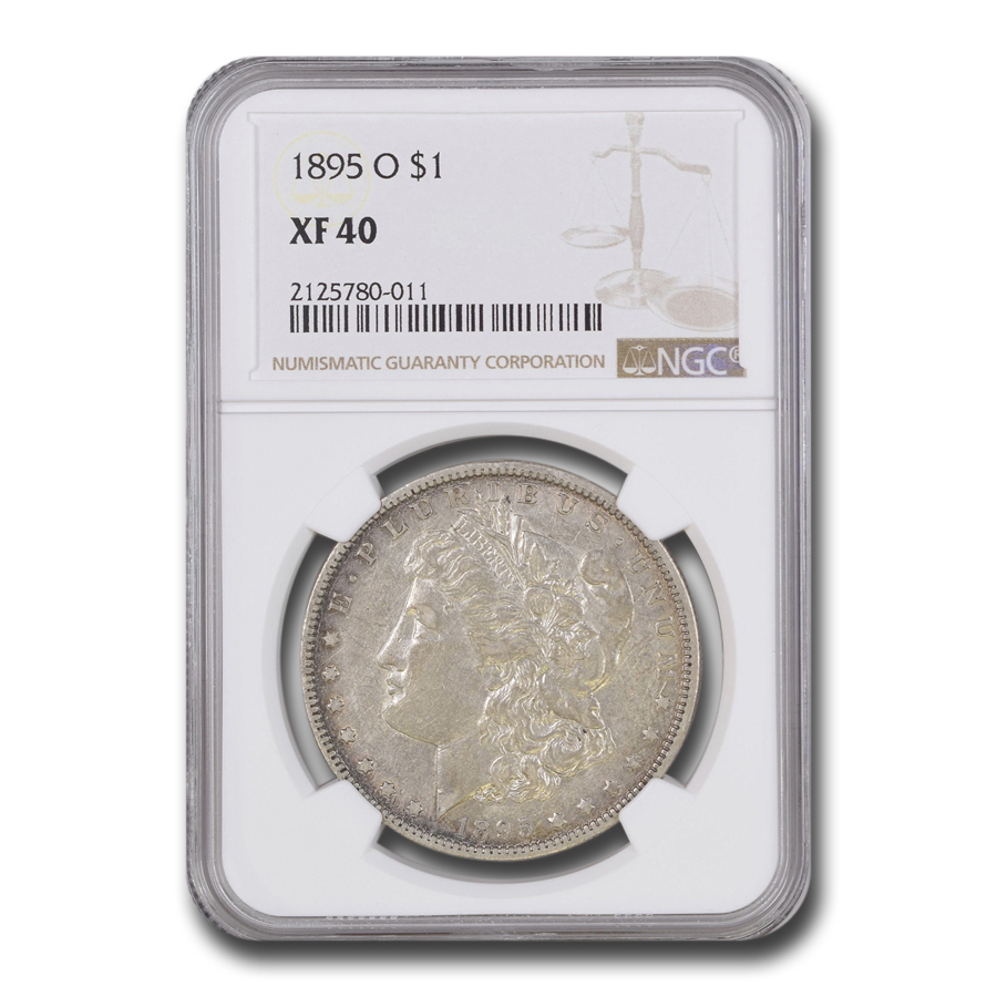 1895-O Morgan Dollar XF-40 NGC