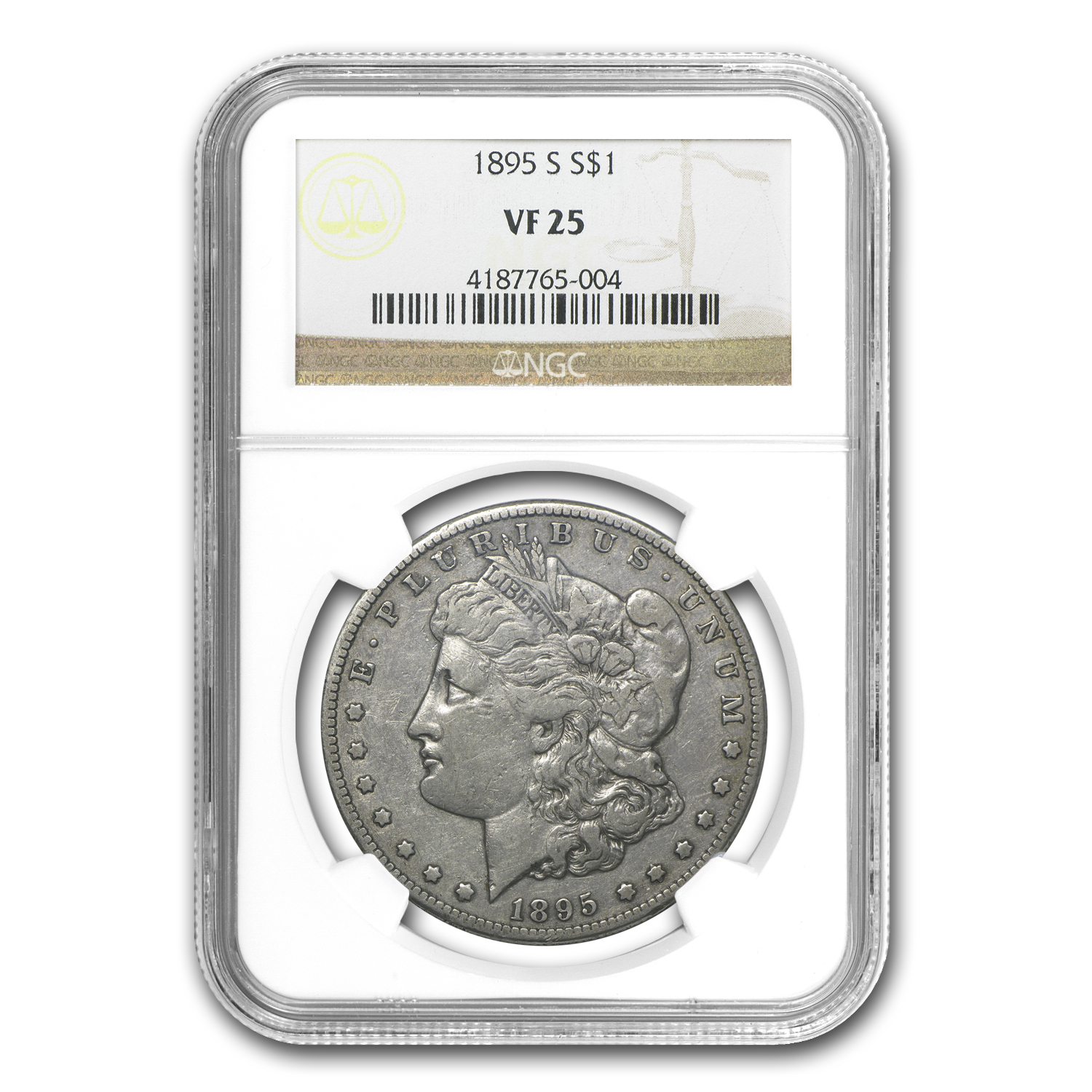 1895-S Morgan Dollar VF-25 NGC