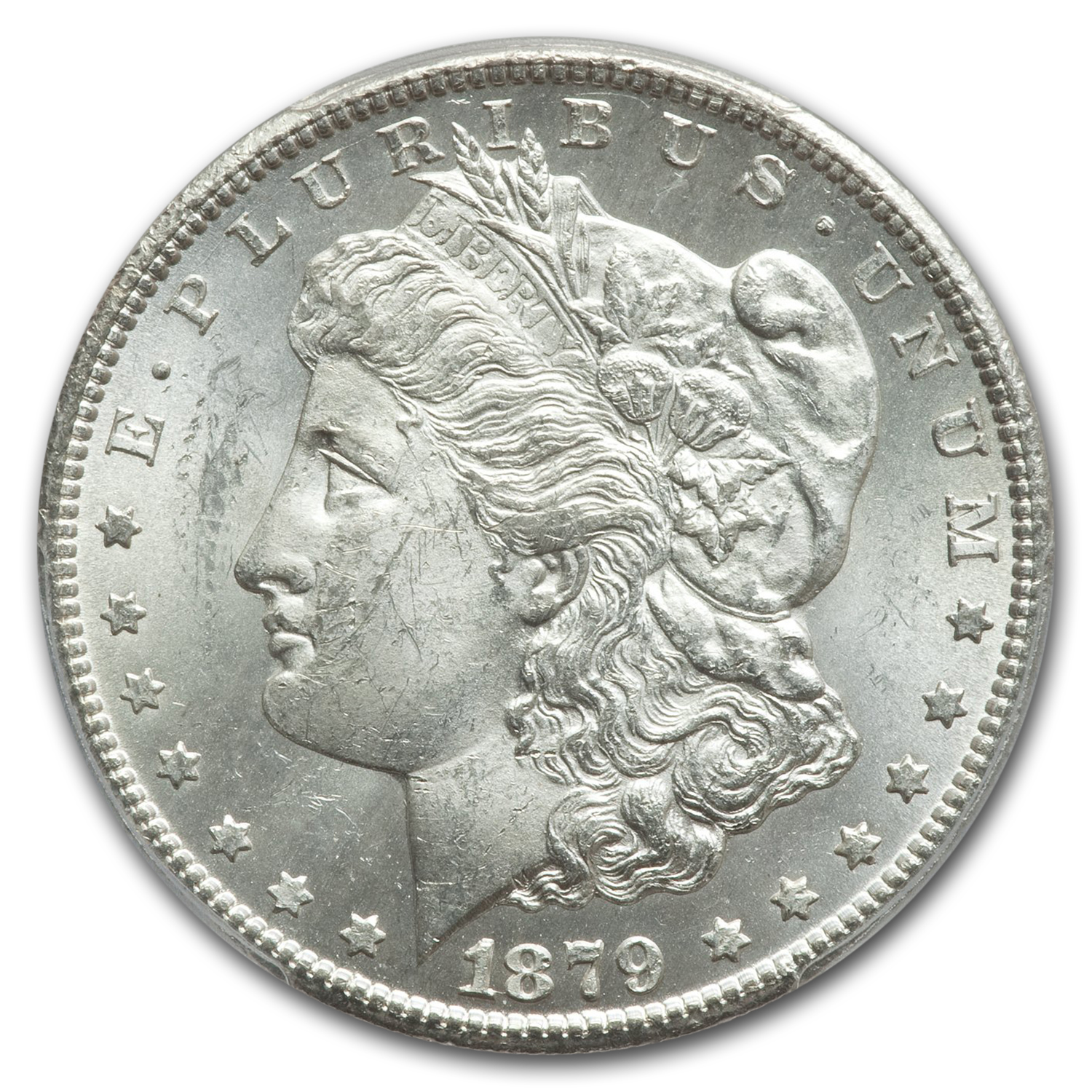 1879-CC Morgan Dollar MS-62 PCGS