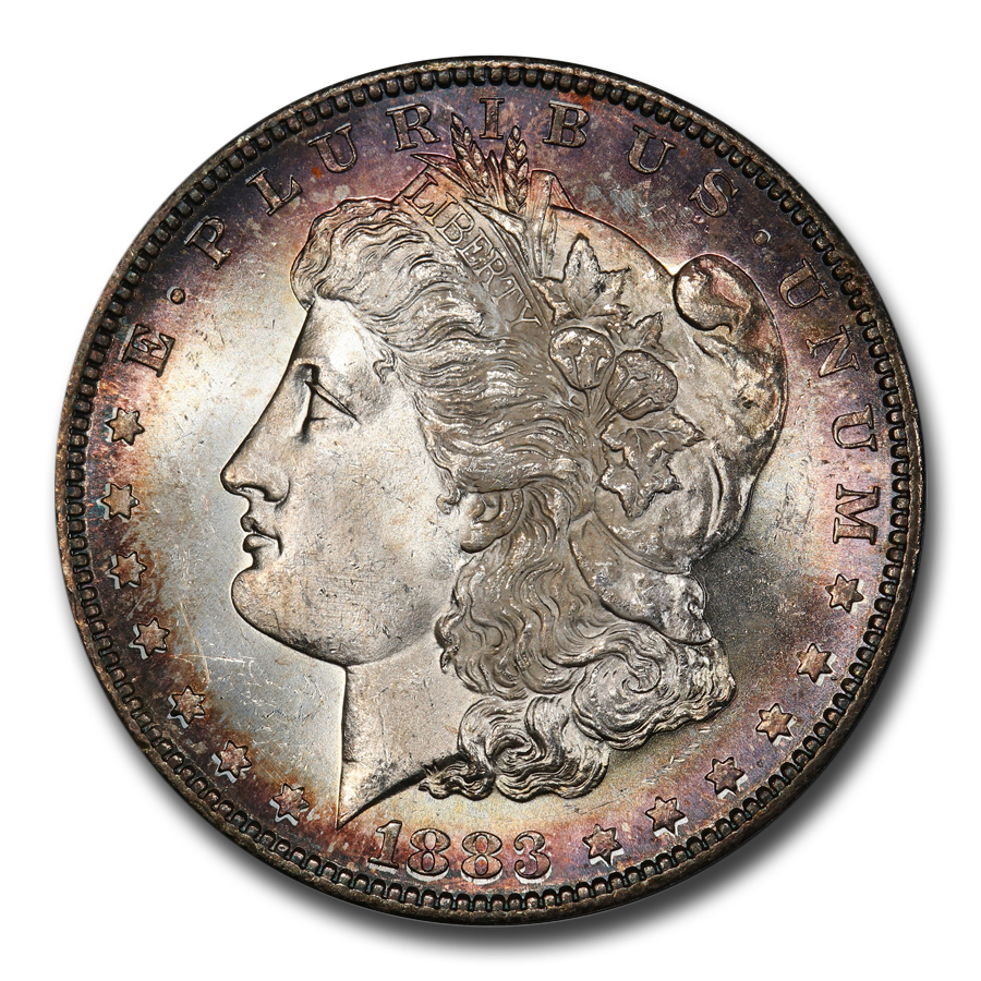 1883-S Morgan Dollar MS-64 PCGS