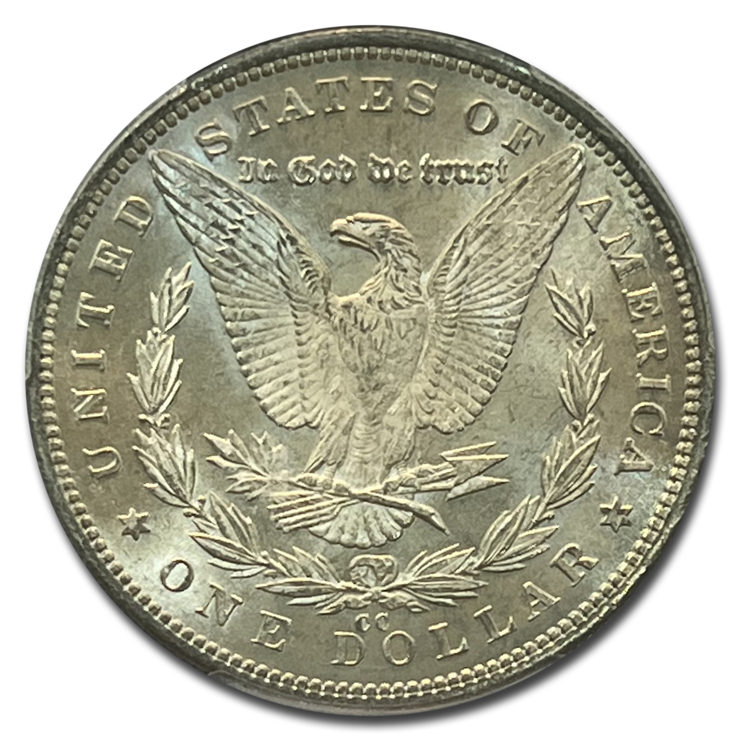 1892-CC Morgan Dollar MS-64 PCGS