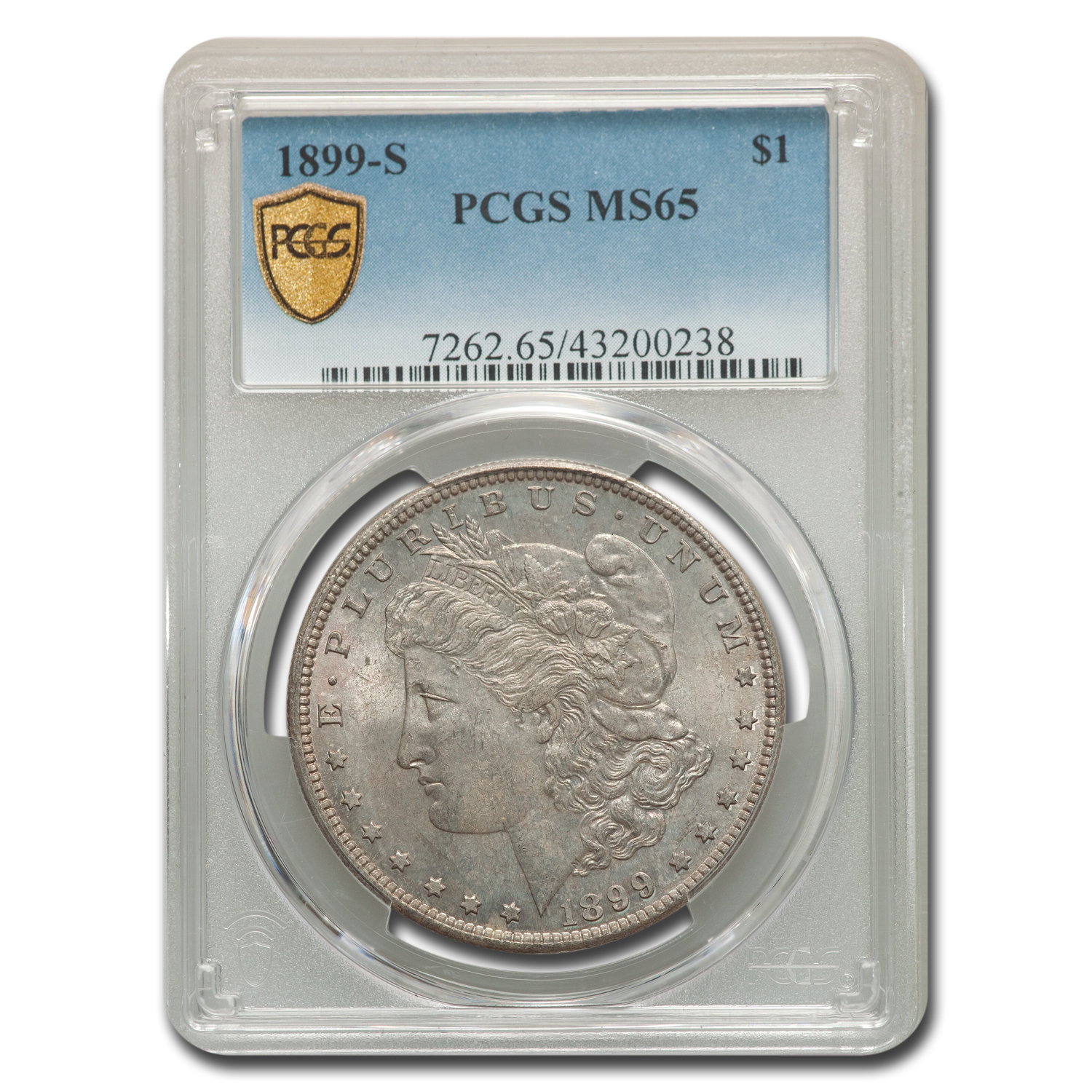 1899-S Morgan Dollar MS-65 PCGS