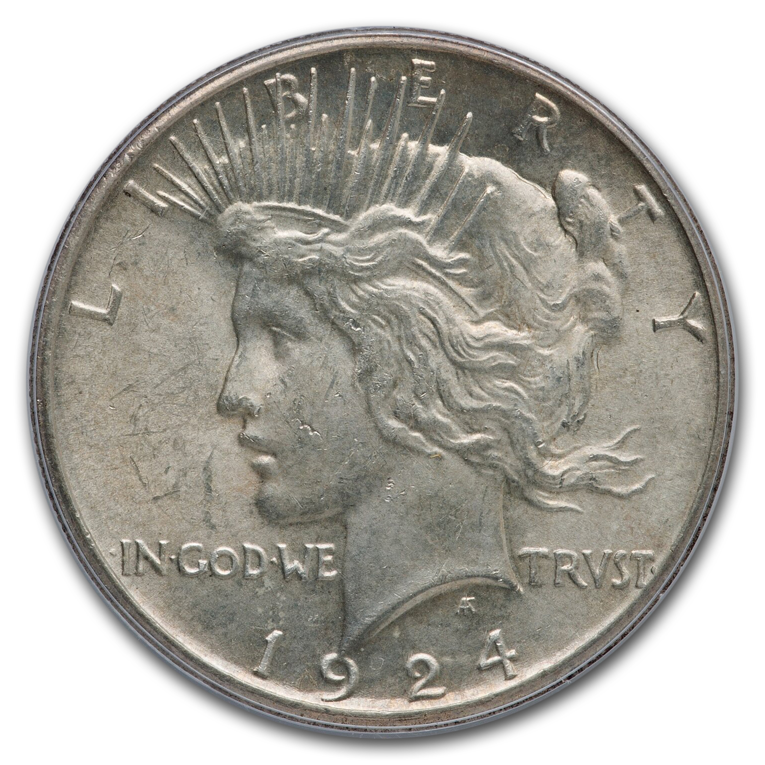 1924-S Peace Dollar MS-63 PCGS
